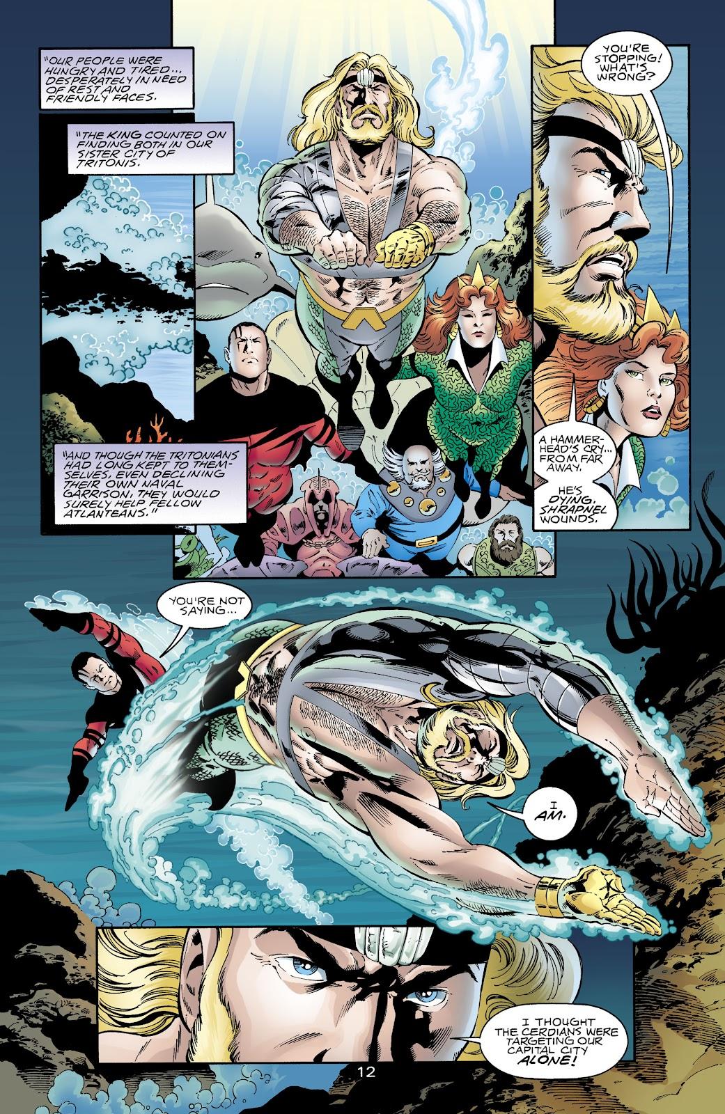 Aquaman (1994) Issue #65 #71 - English 12