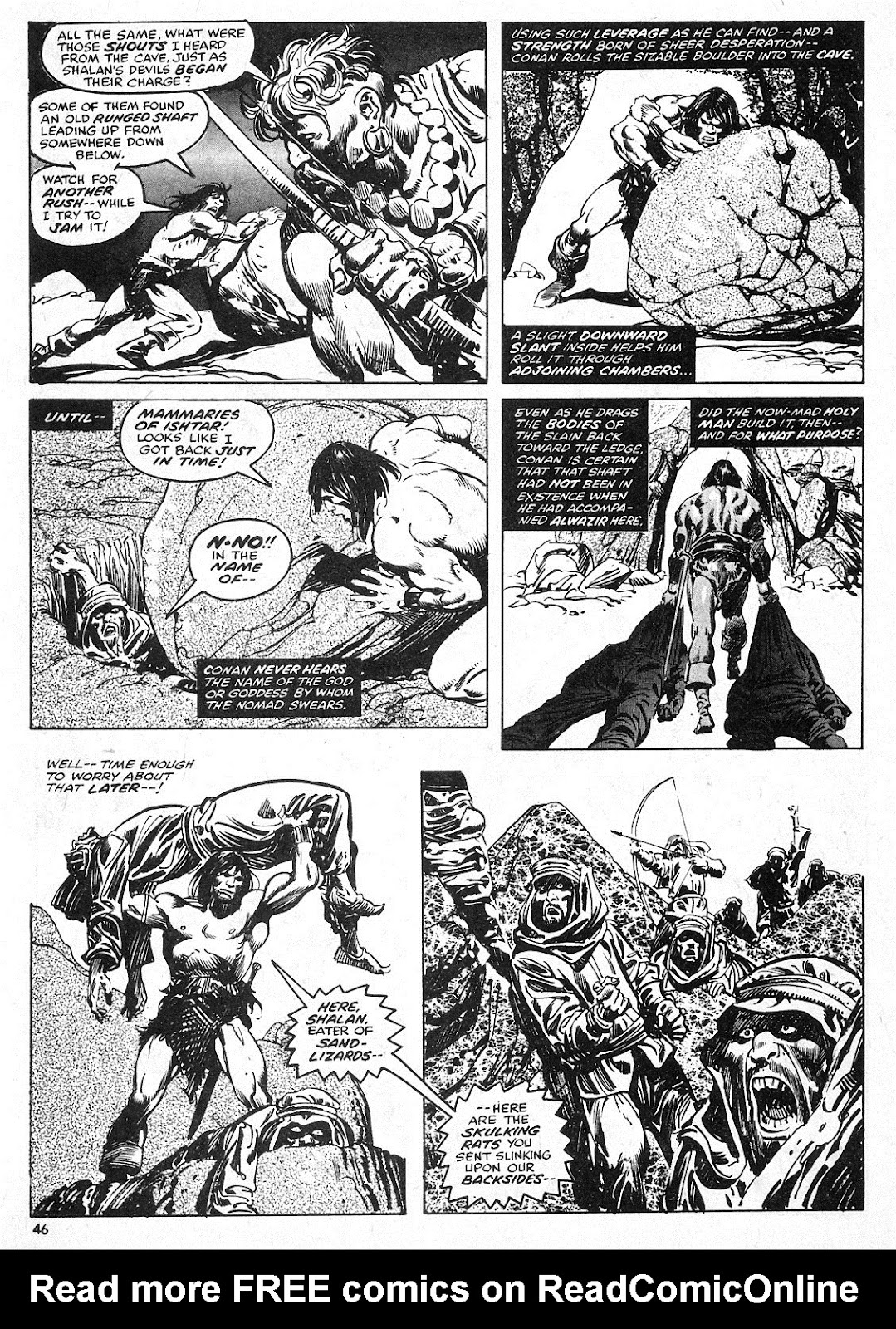 The Savage Sword Of Conan Issue #28 #29 - English 46