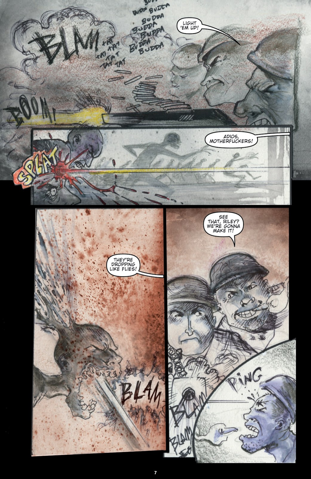 Zombies vs. Robots (2006) _Annual 1 Page 8
