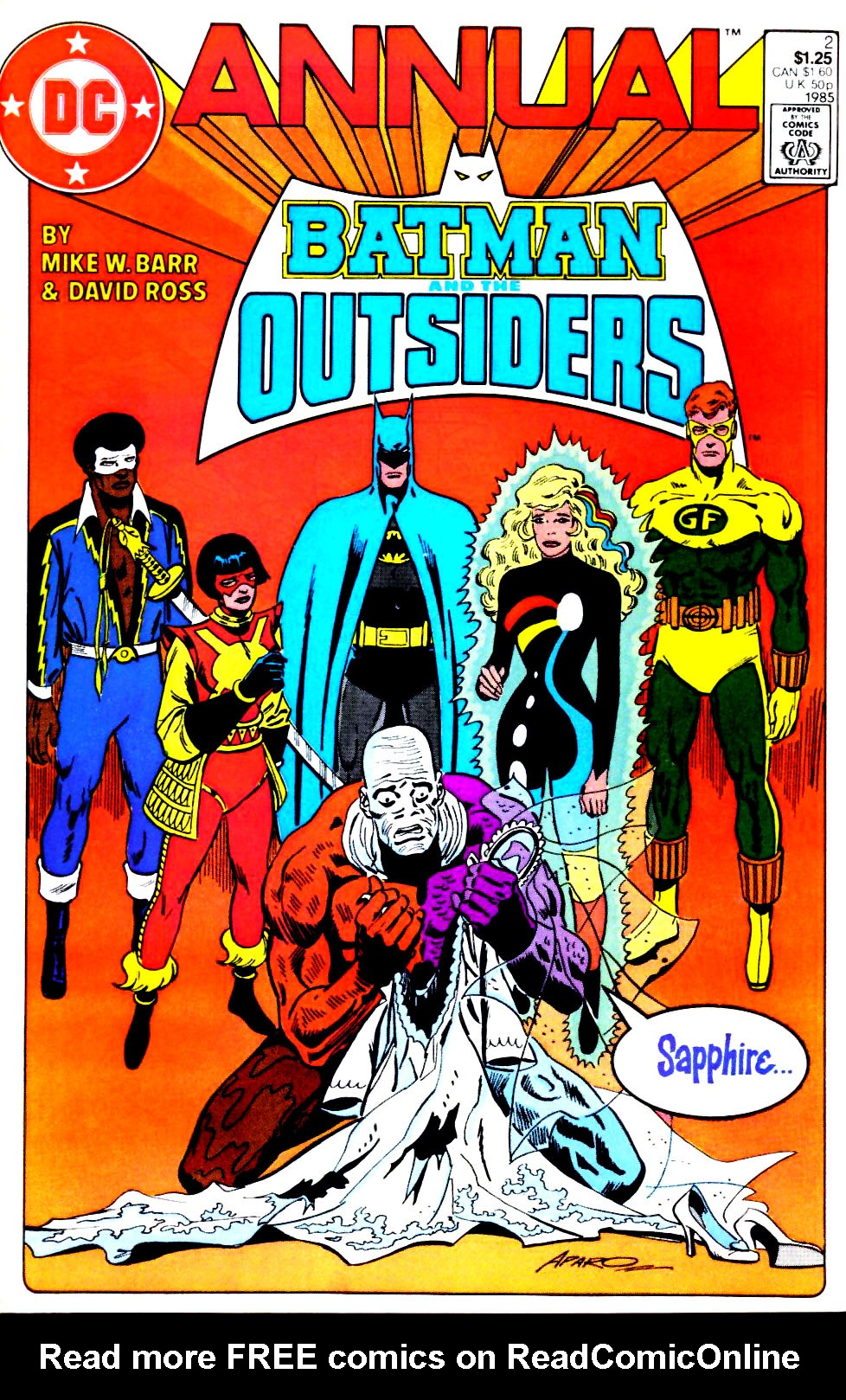 Batman and the Outsiders (1983) _Annual_2 Page 1