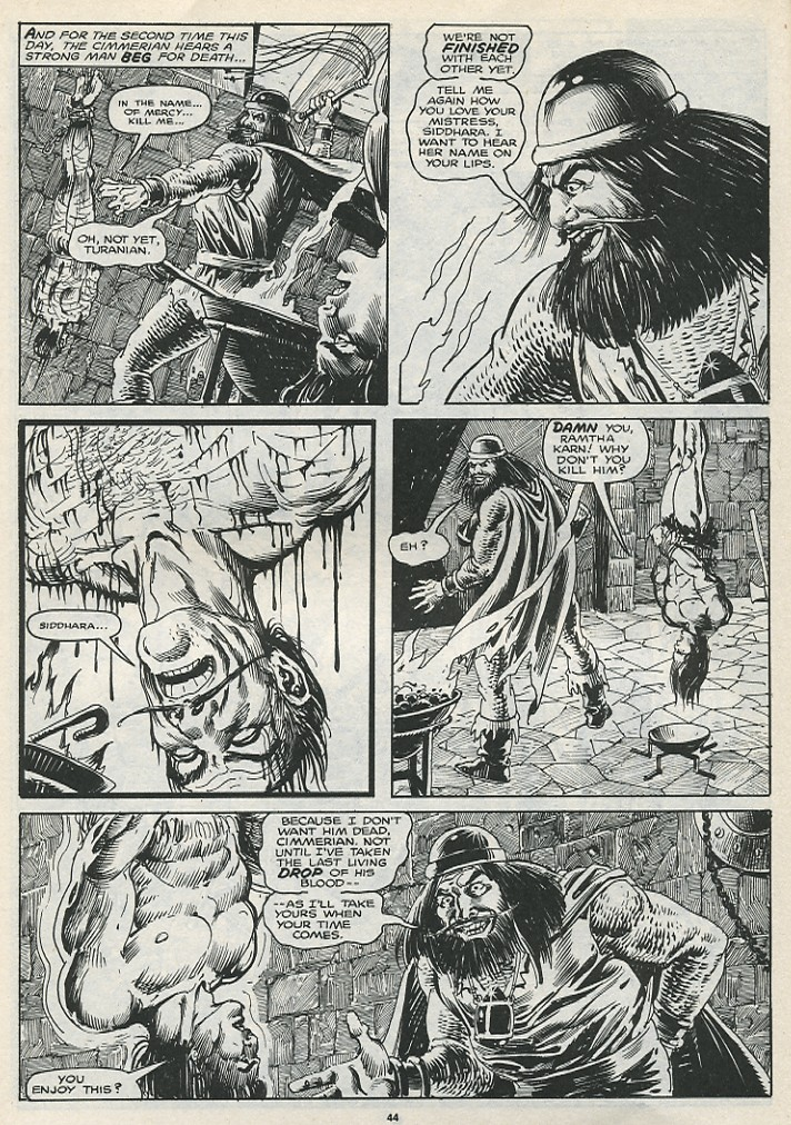 The Savage Sword Of Conan Issue #174 #175 - English 46