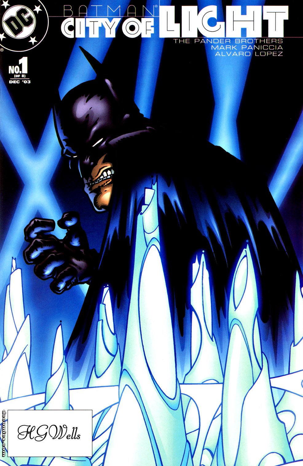Batman: City of Light 1 Page 1