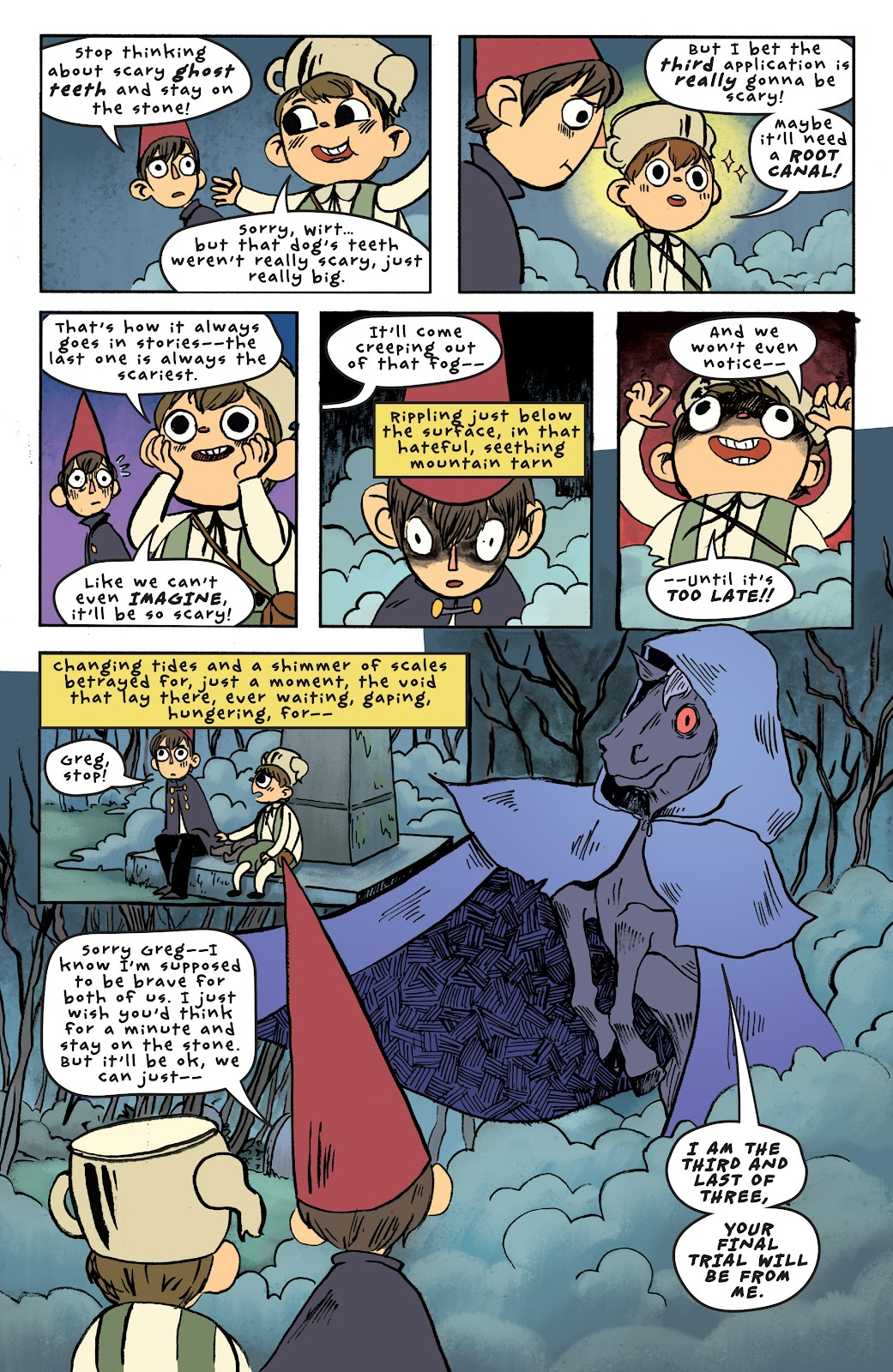 Over the Garden Wall (2016) Issue #6 #6 - English 21