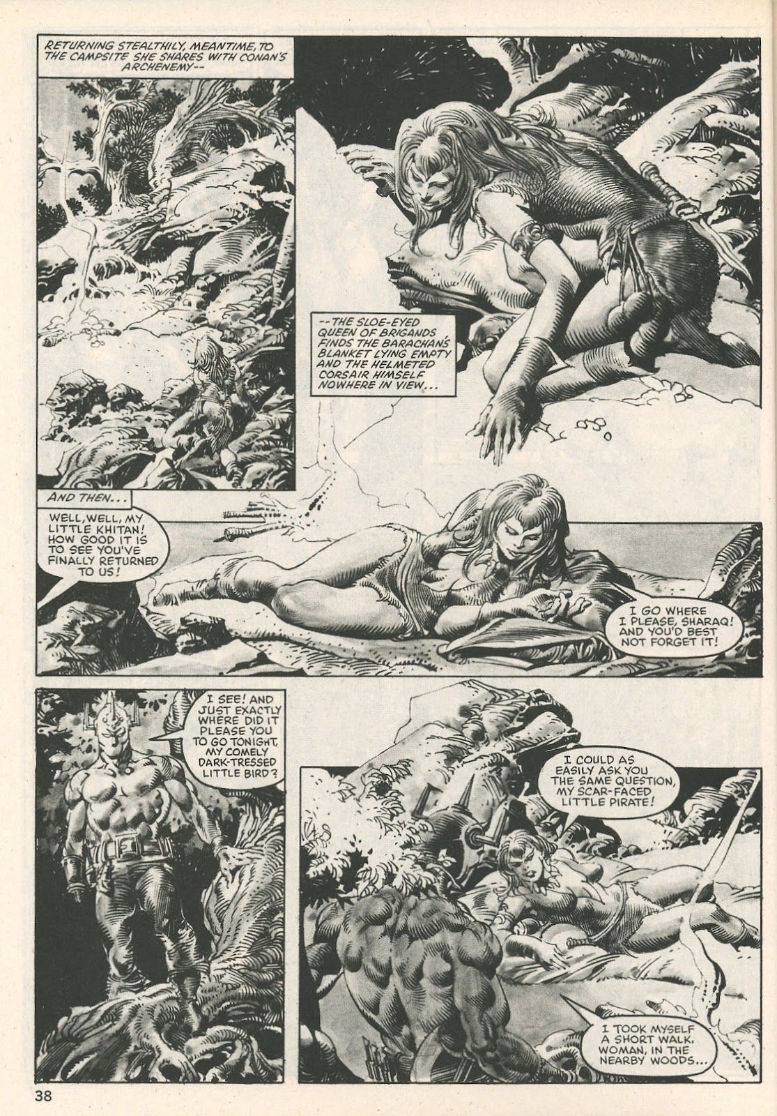 The Savage Sword Of Conan Issue #107 #108 - English 38