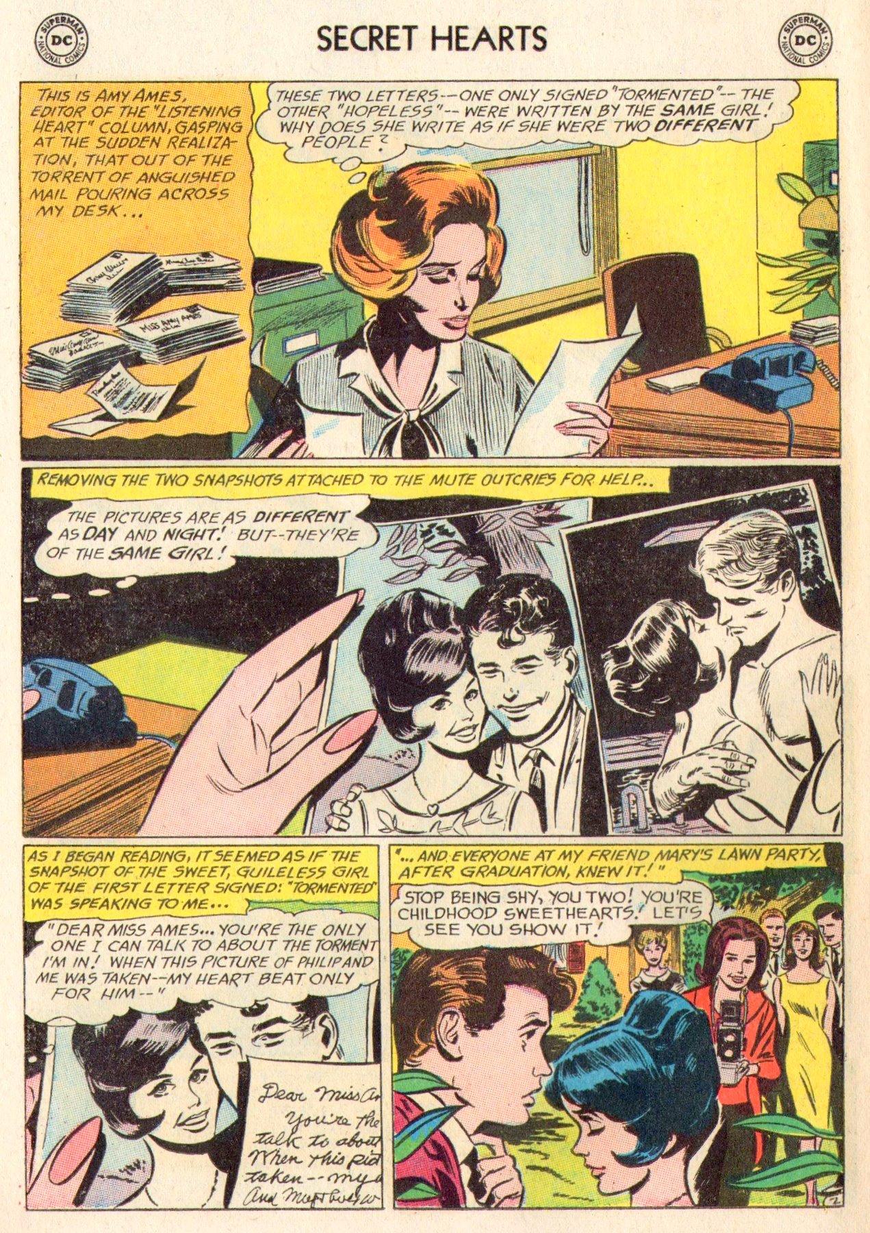 Read online Secret Hearts comic -  Issue #104 - 22