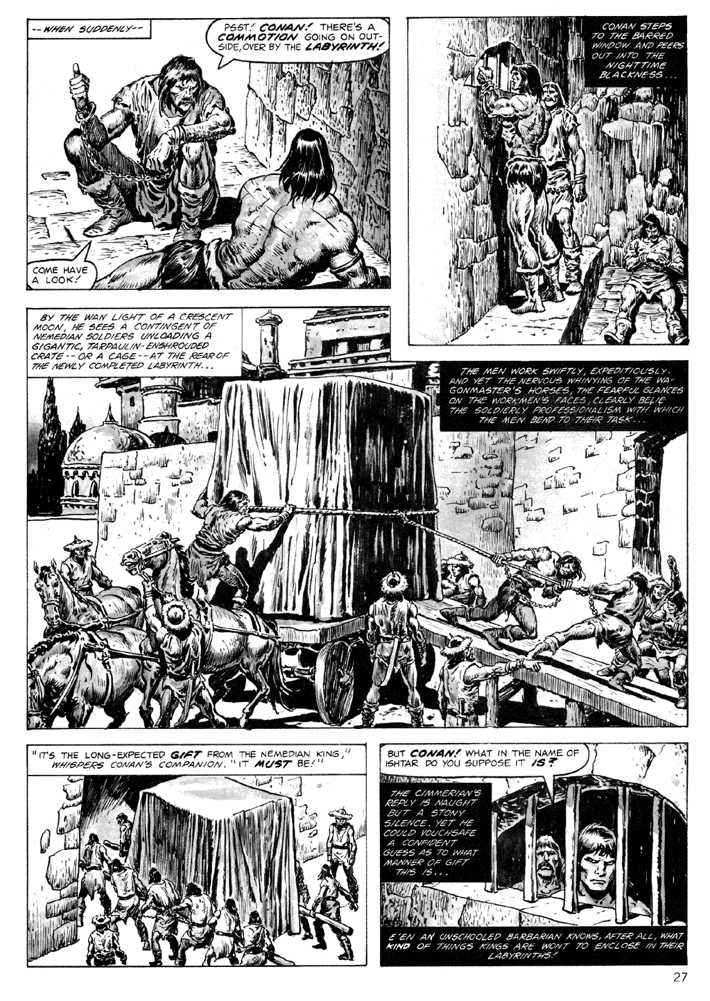 The Savage Sword Of Conan Issue #71 #72 - English 27
