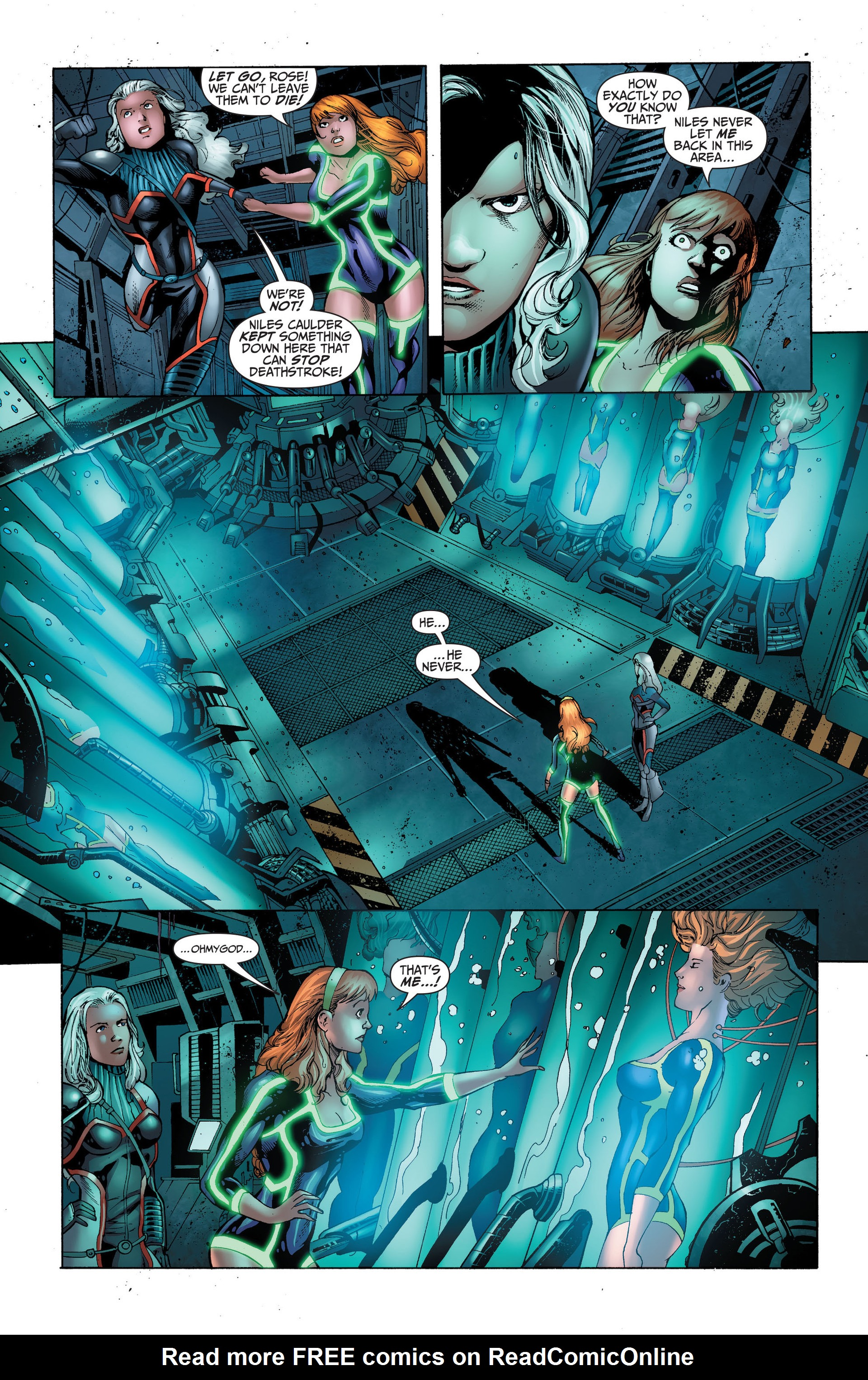 Read online The Ravagers comic -  Issue #11 - 21