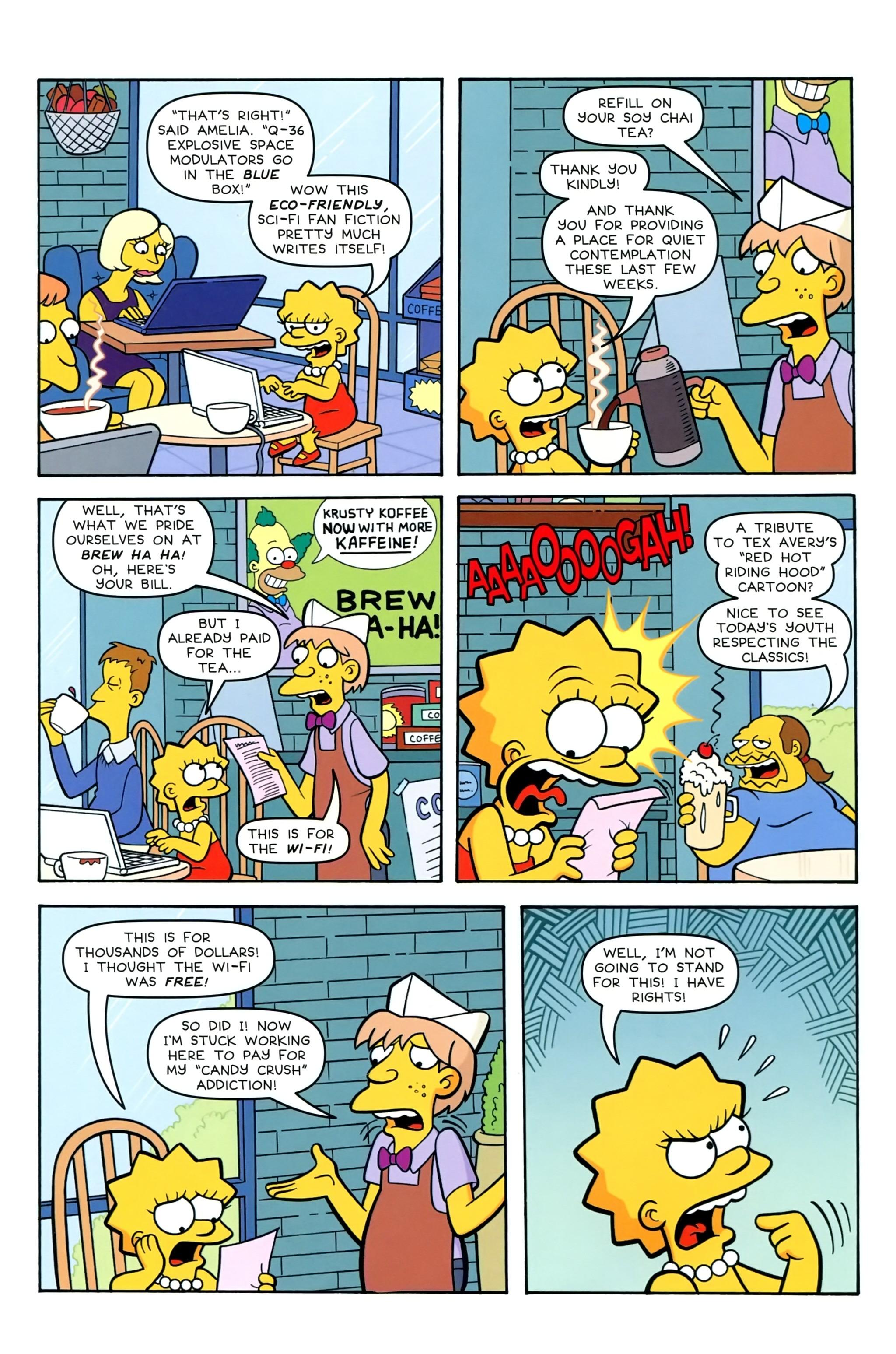 Read online Simpsons Comics comic -  Issue #239 - 4