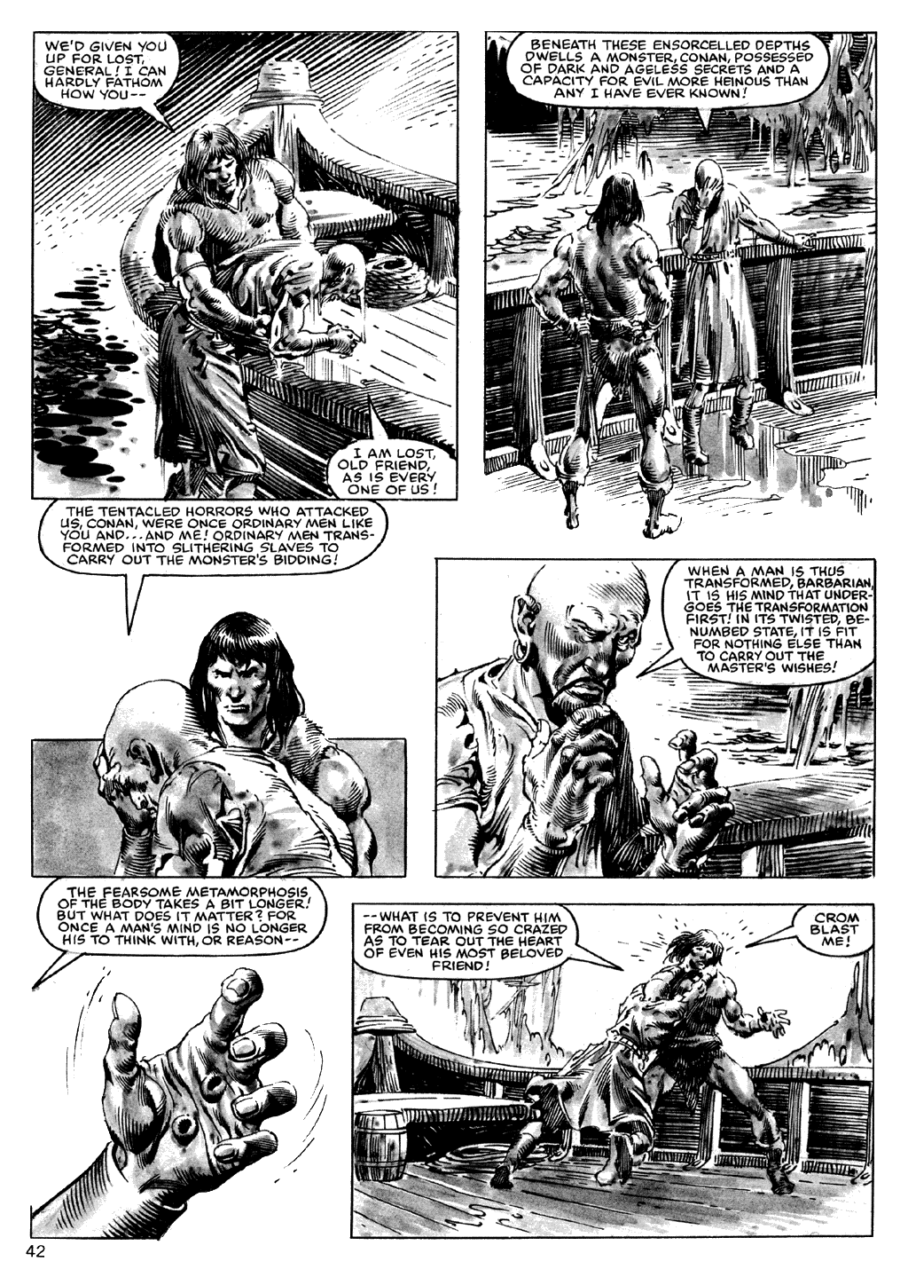 The Savage Sword Of Conan Issue #101 #102 - English 42