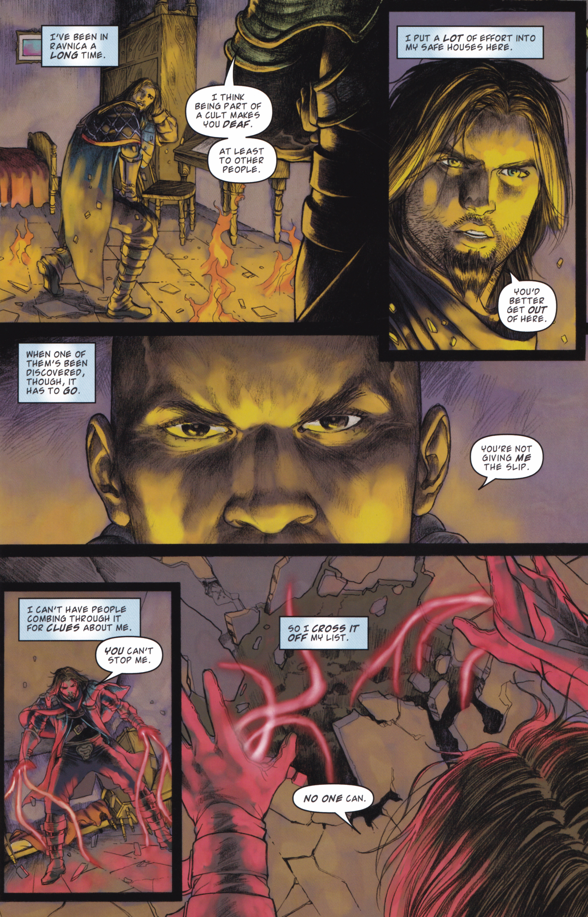 Read online Magic: The Gathering--Path of Vengeance comic -  Issue #2 - 7