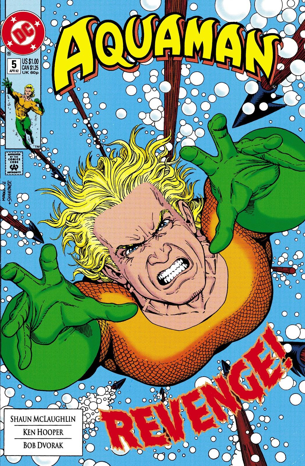 Aquaman (1991) Issue #5 #5 - English 1