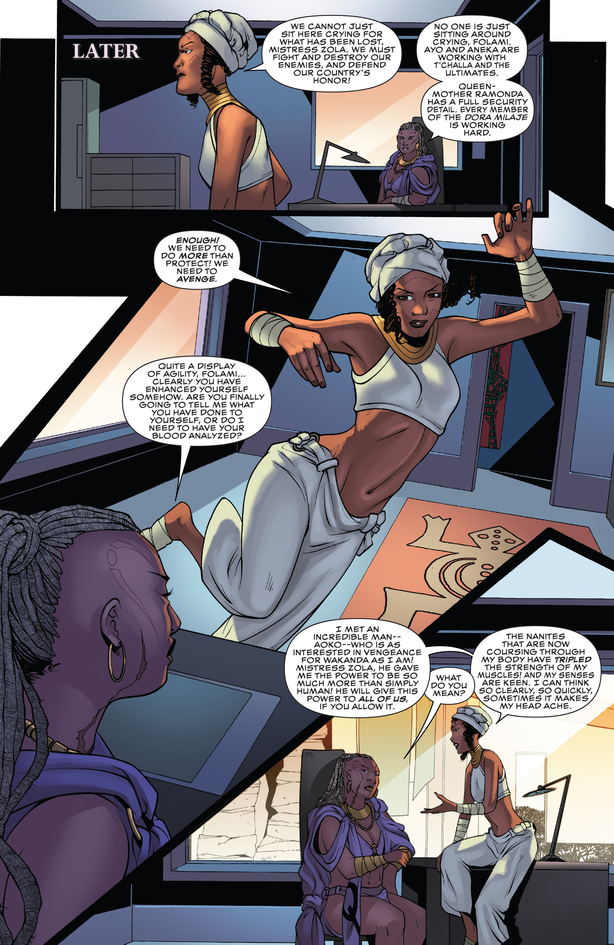 Read online Black Panther: World of Wakanda comic -  Issue #4 - 6