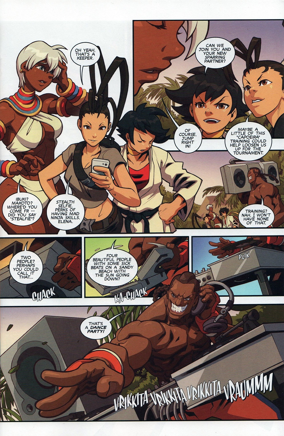 Street Fighter Unlimited Issue #7 #9 - English 13