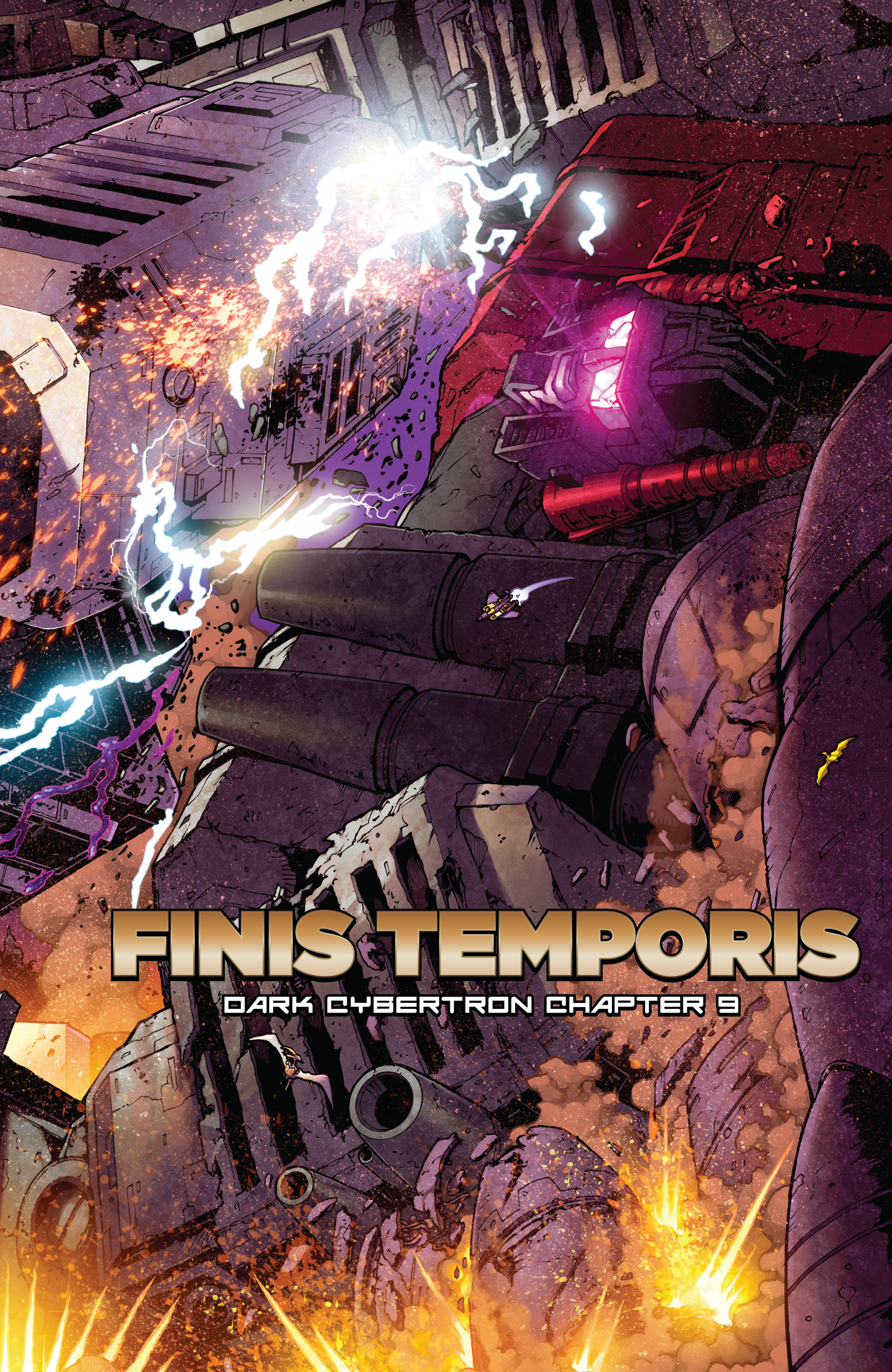 Read online The Transformers: Dark Cybertron Finale comic -  Issue # Full - 56