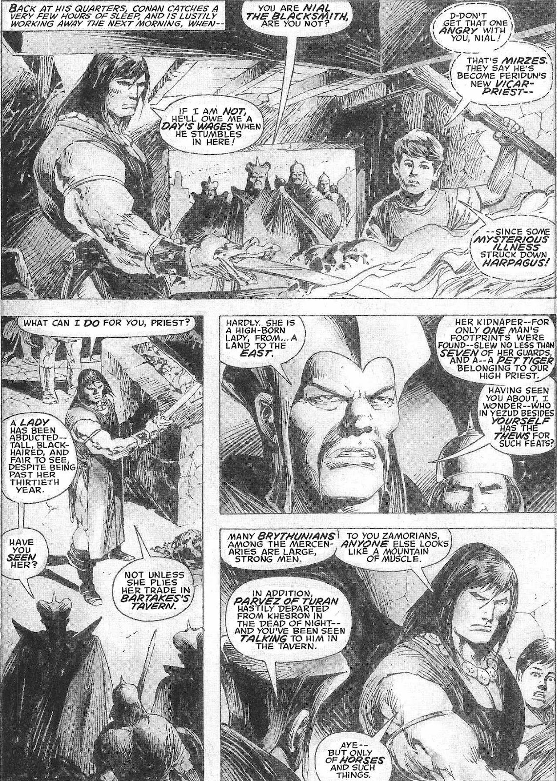 The Savage Sword Of Conan Issue #209 #210 - English 45
