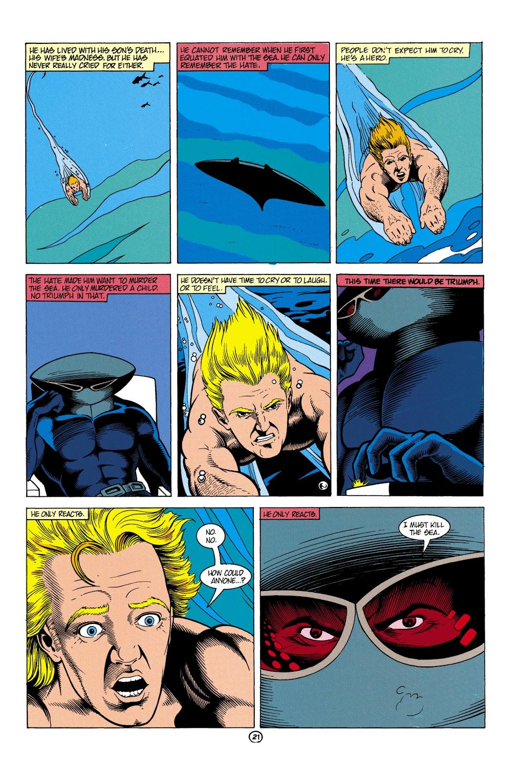 Aquaman (1991) Issue #5 #5 - English 22