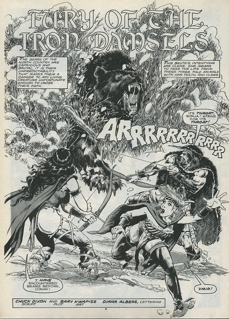 The Savage Sword Of Conan Issue #179 #180 - English 6