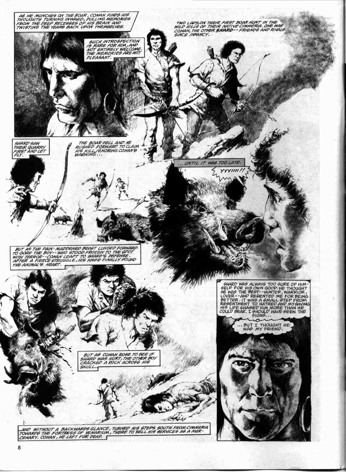The Savage Sword Of Conan Issue #74 #75 - English 7
