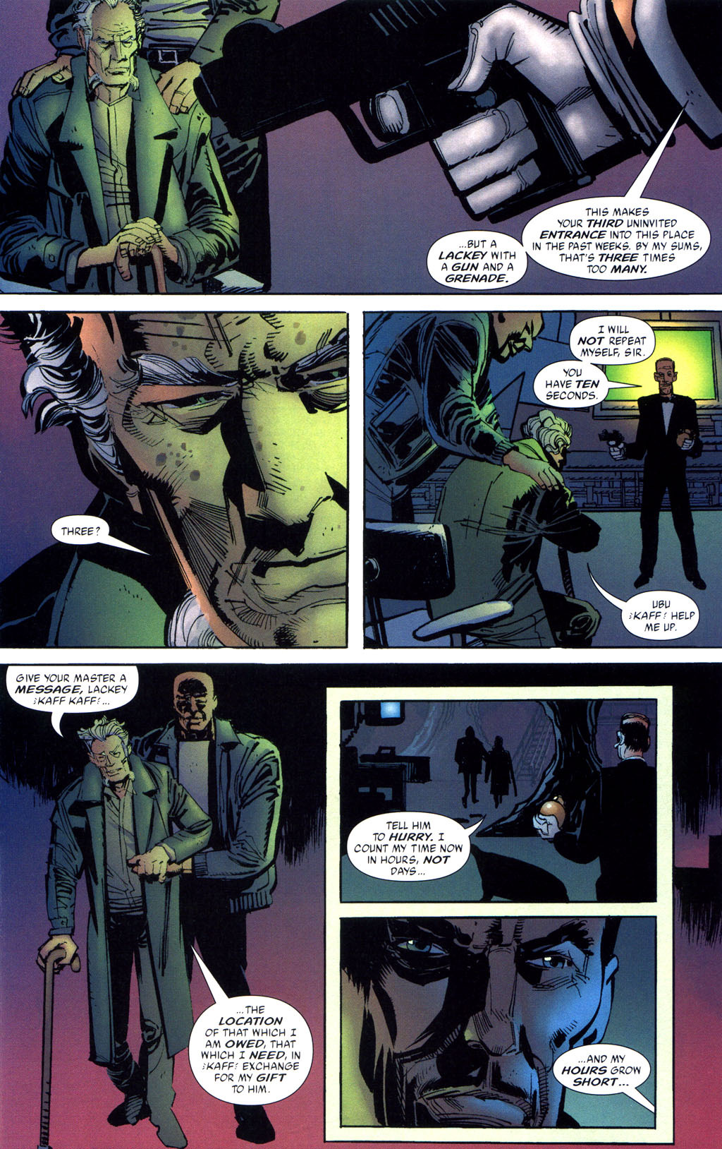 Batman: Death and the Maidens 6 Page 12