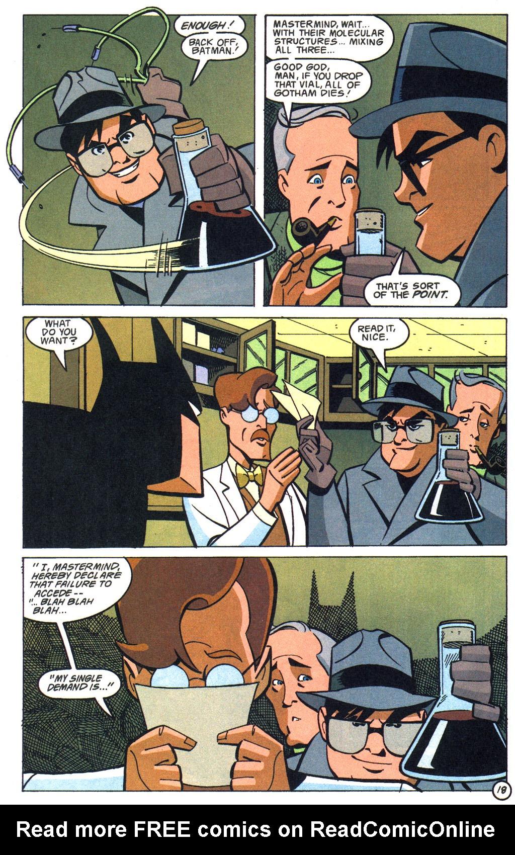 Batman: Gotham Adventures 13 Page 19