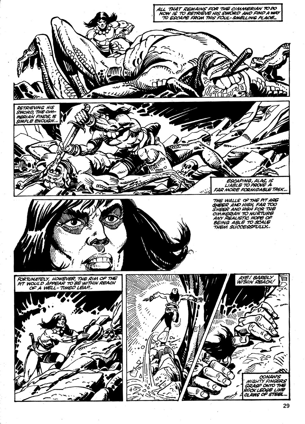 The Savage Sword Of Conan Issue #86 #87 - English 29