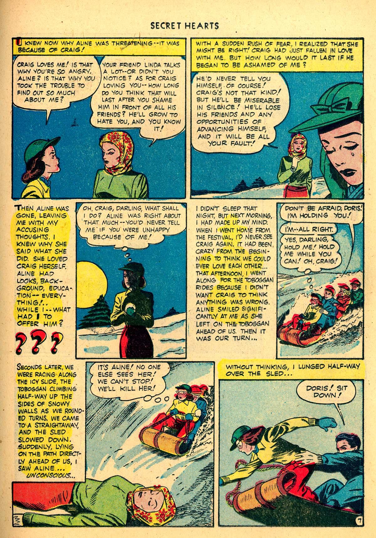 Read online Secret Hearts comic -  Issue #4 - 27