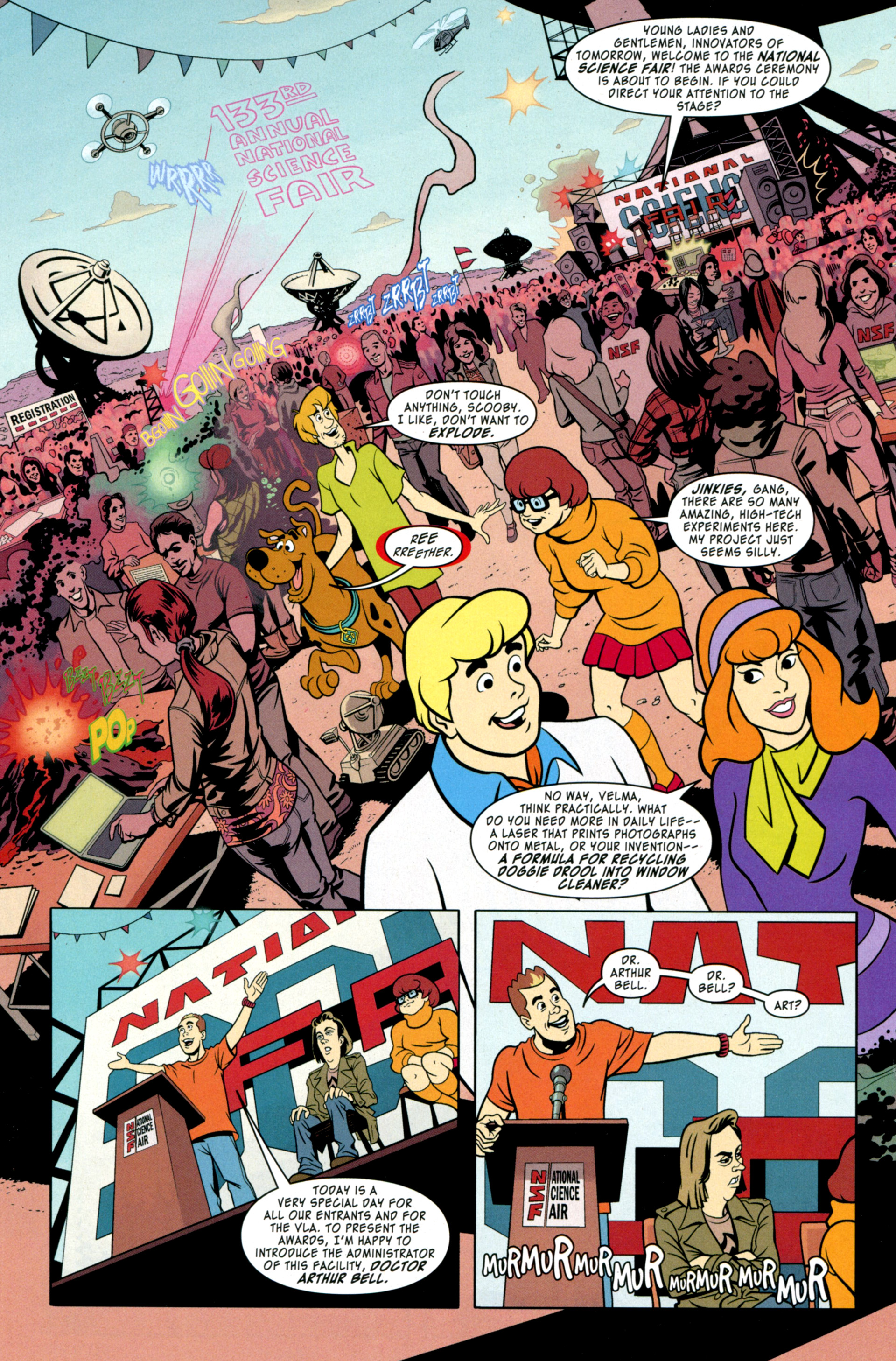 Read online Scooby-Doo: Where Are You? comic -  Issue #34 - 4