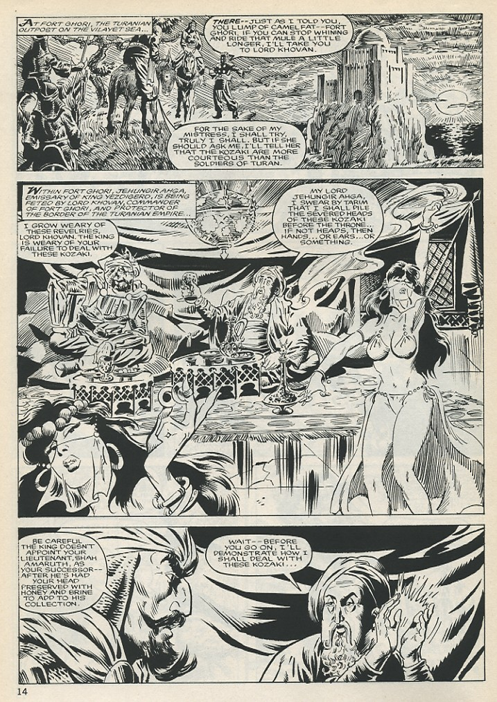 The Savage Sword Of Conan Issue #131 #132 - English 14