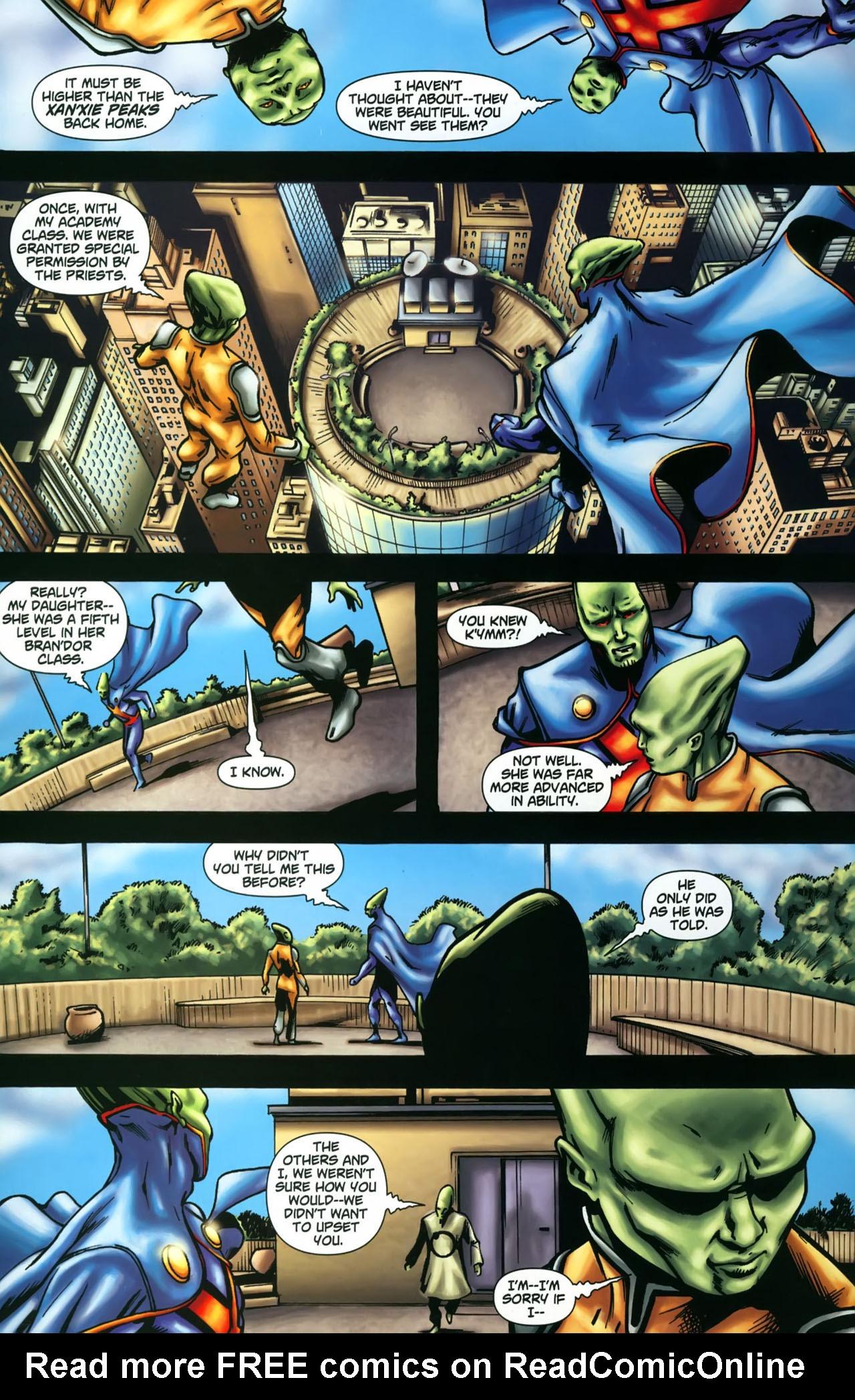 Read online Martian Manhunter (2006) comic -  Issue #3 - 13