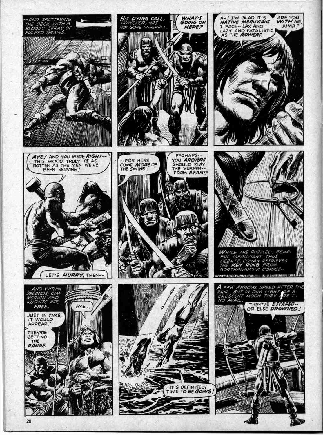 The Savage Sword Of Conan Issue #59 #60 - English 28