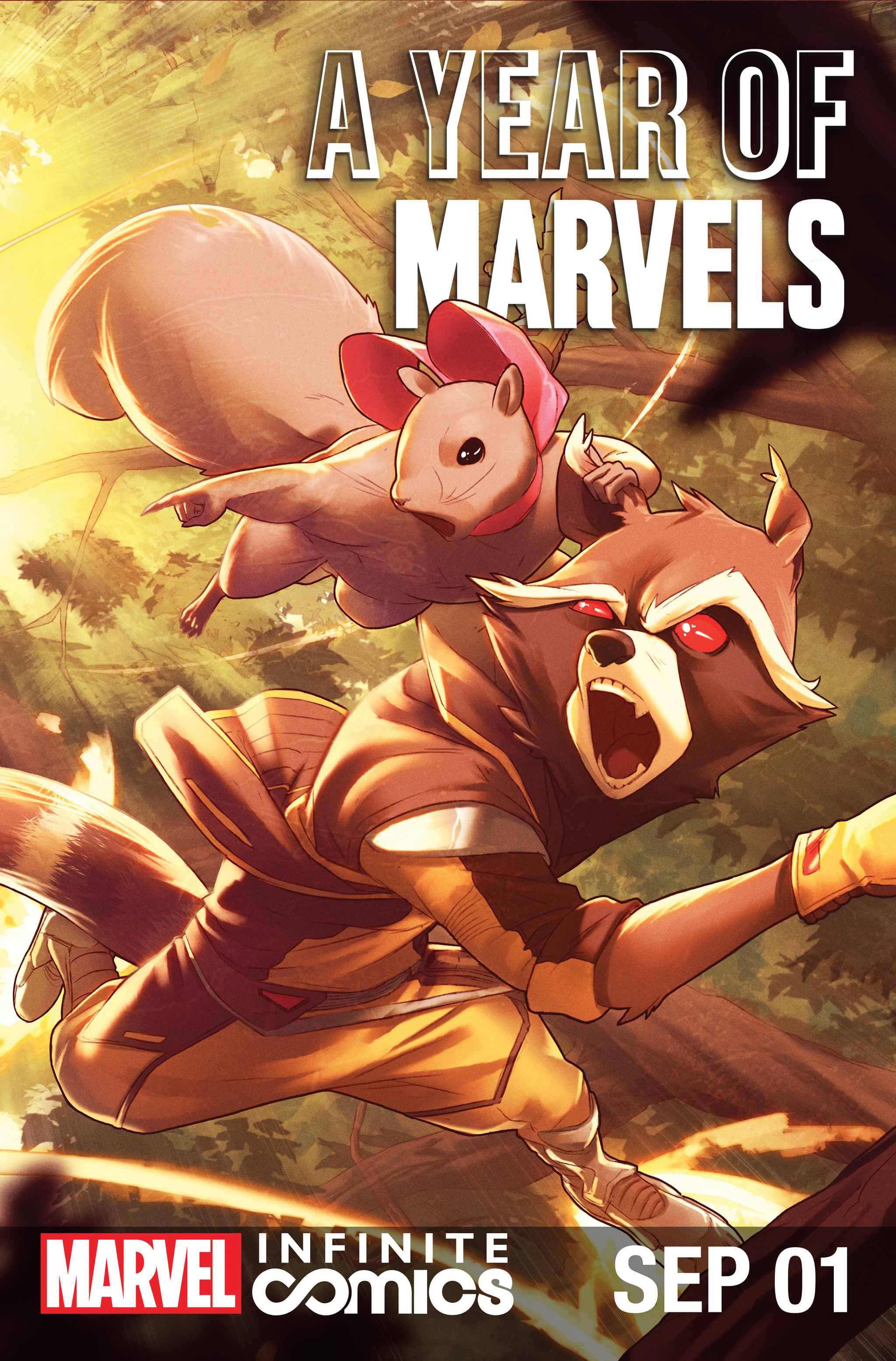 A Year Of Marvels: September Infinite Comic Full Page 1