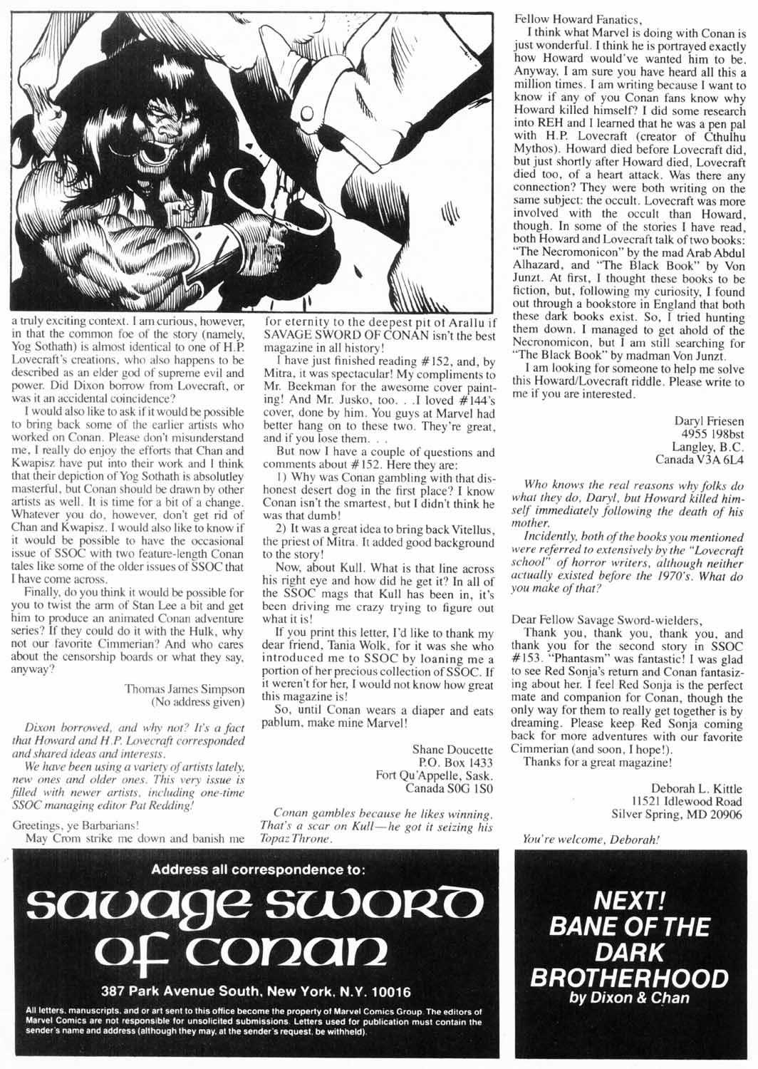 The Savage Sword Of Conan Issue #157 #158 - English 5