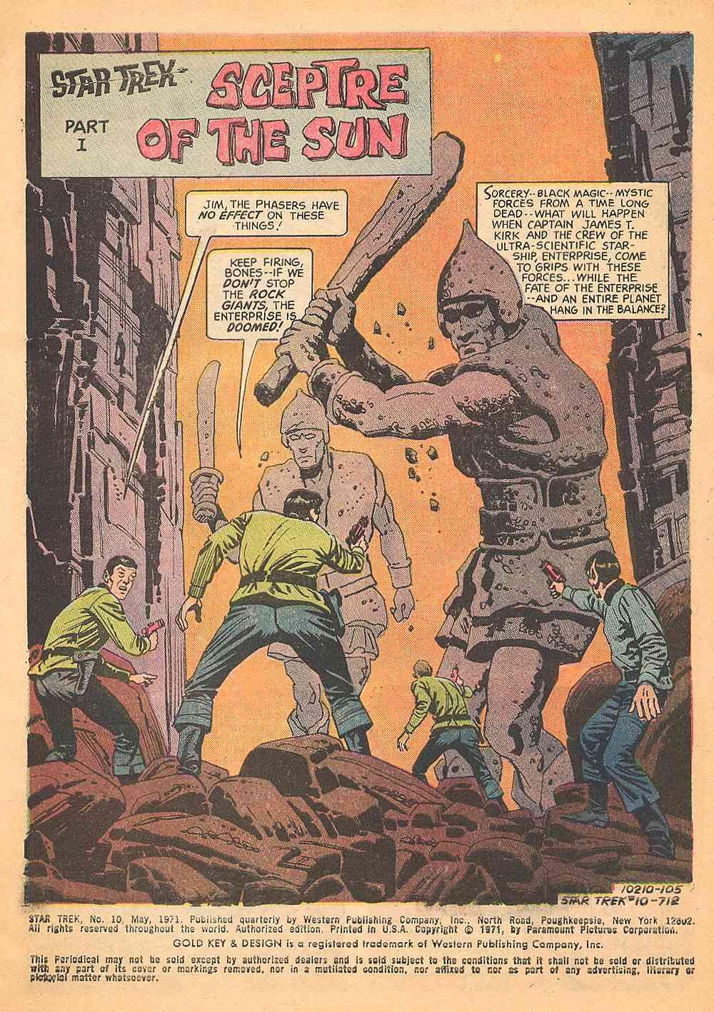 Star Trek (1967) Issue #10 #10 - English 2
