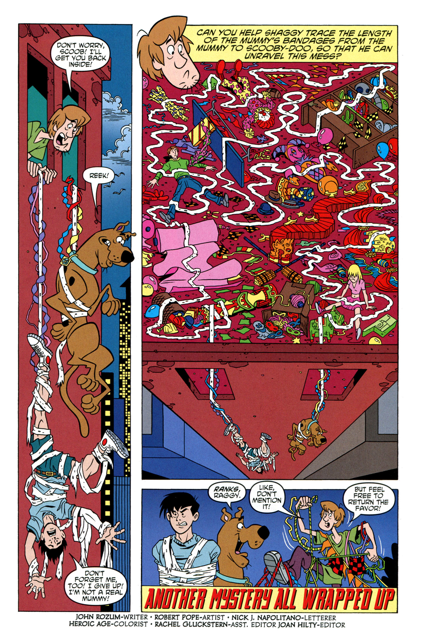 Read online Scooby-Doo: Where Are You? comic -  Issue #24 - 29
