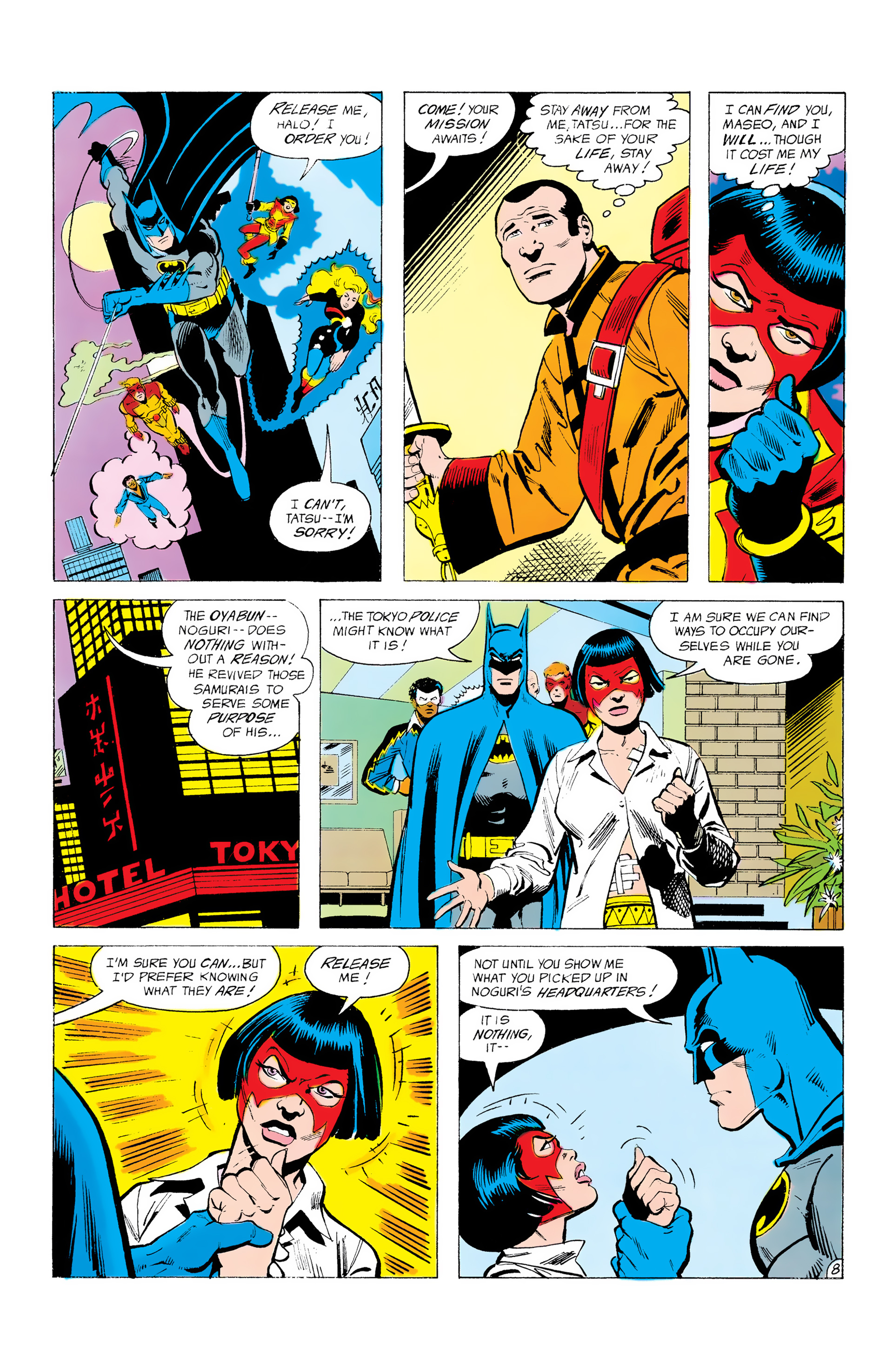 Batman and the Outsiders (1983) 12 Page 8