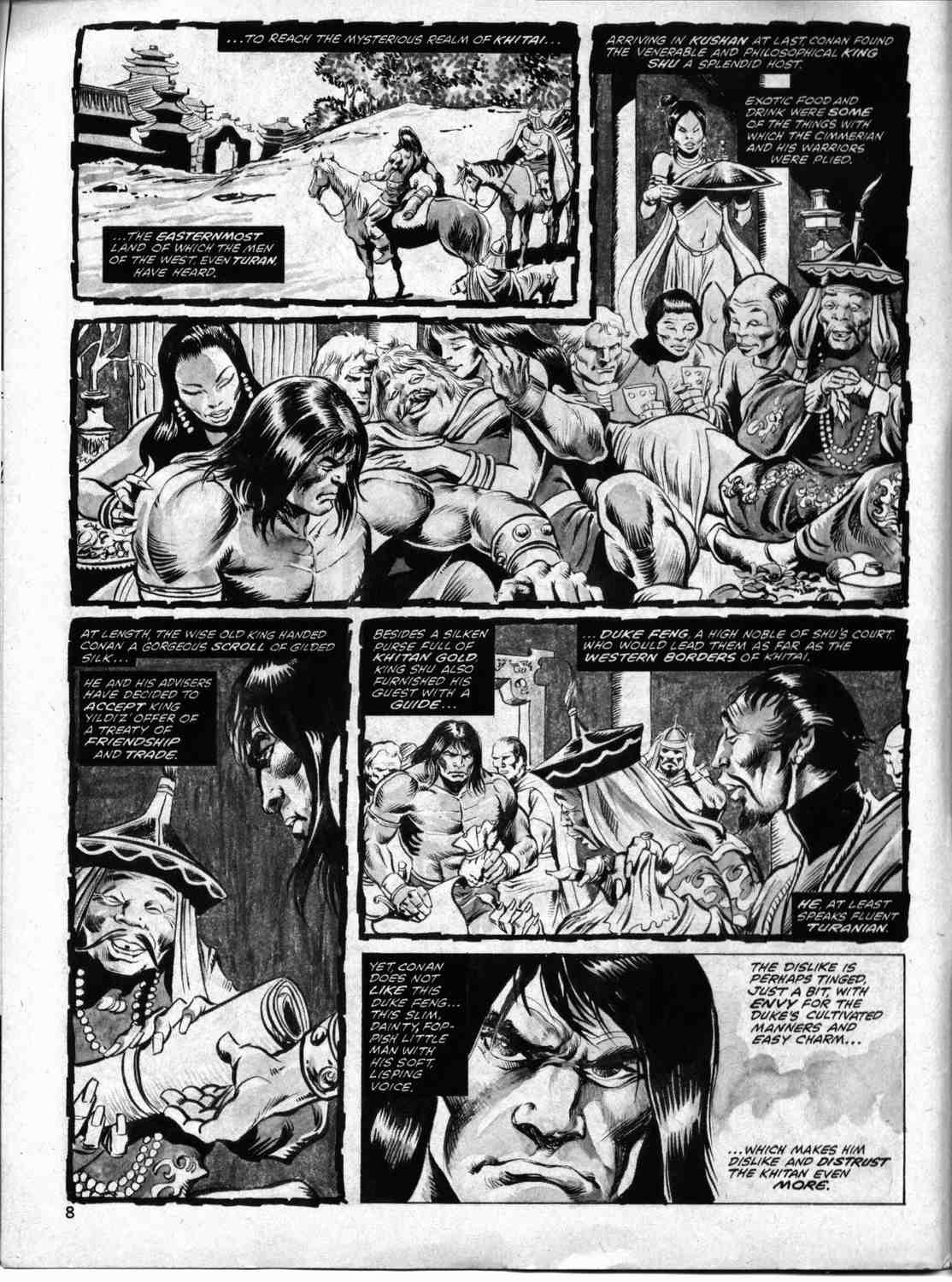 The Savage Sword Of Conan Issue #33 #34 - English 7