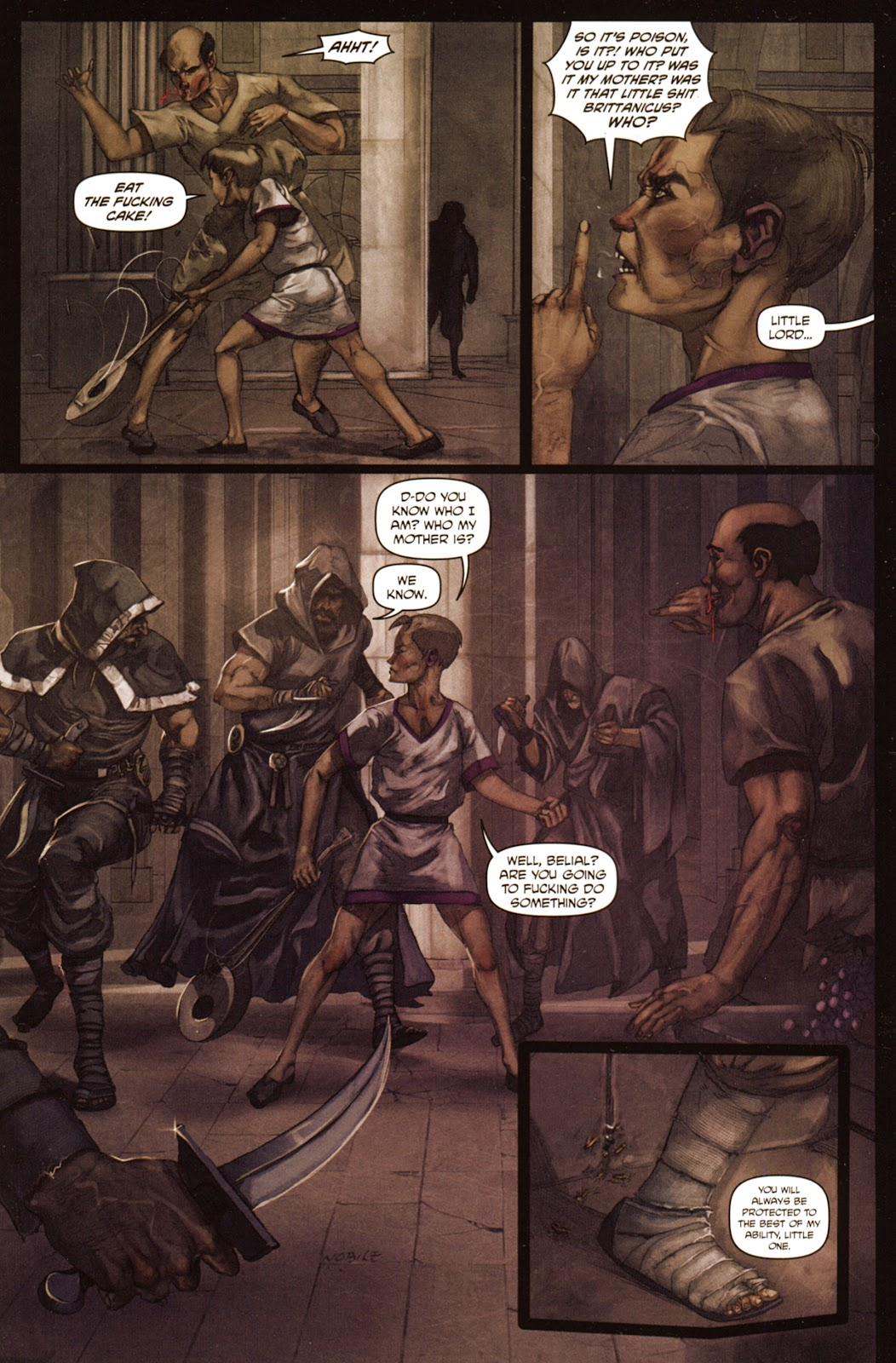 Caligula: Heart of Rome Issue #5 #5 - English 18