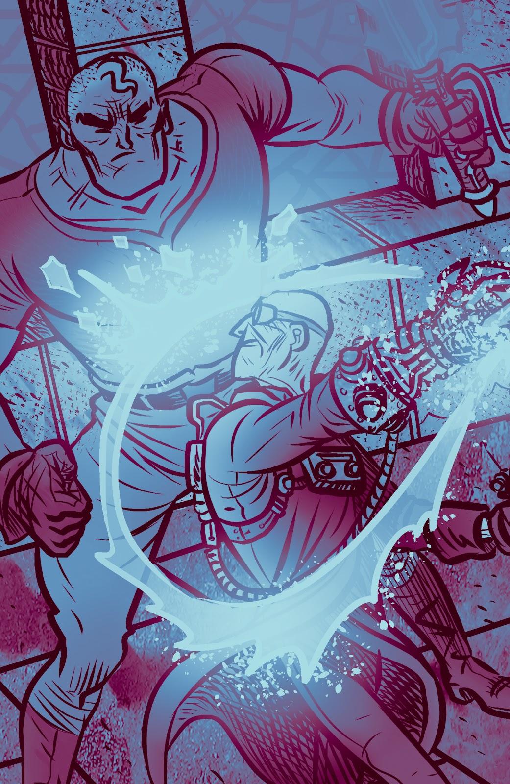 Read online Sherlock Frankenstein and the Legion of Evil comic -  Issue #4 - 22
