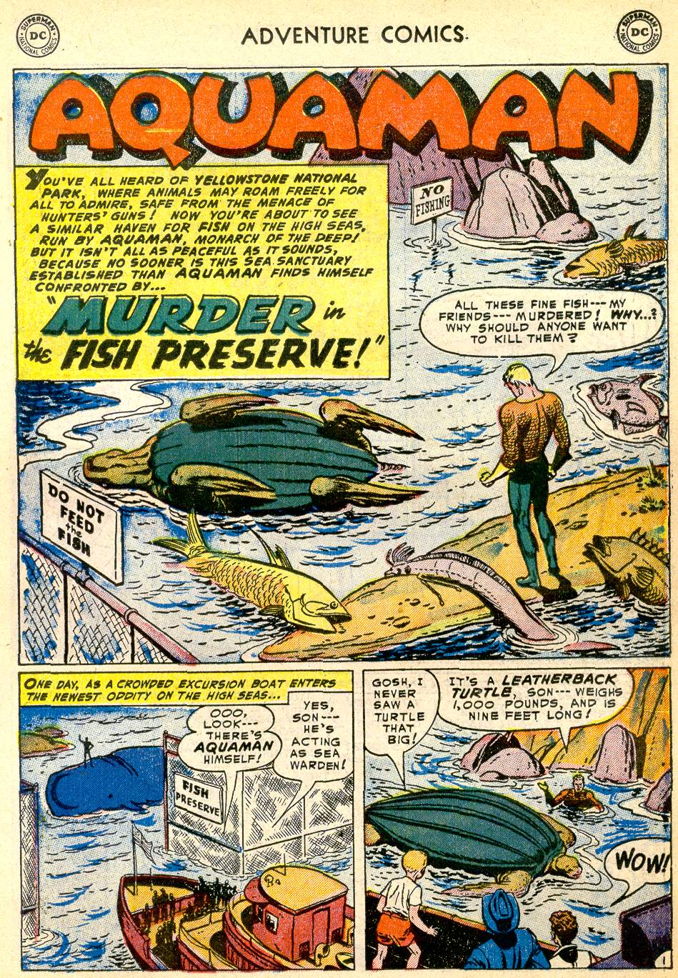 Read online Adventure Comics (1938) comic -  Issue #192 - 17