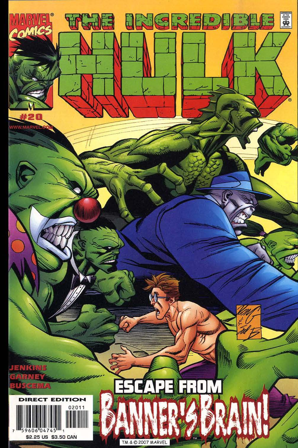 Read online The Incredible Hulk (2000) comic -  Issue #20 - 1