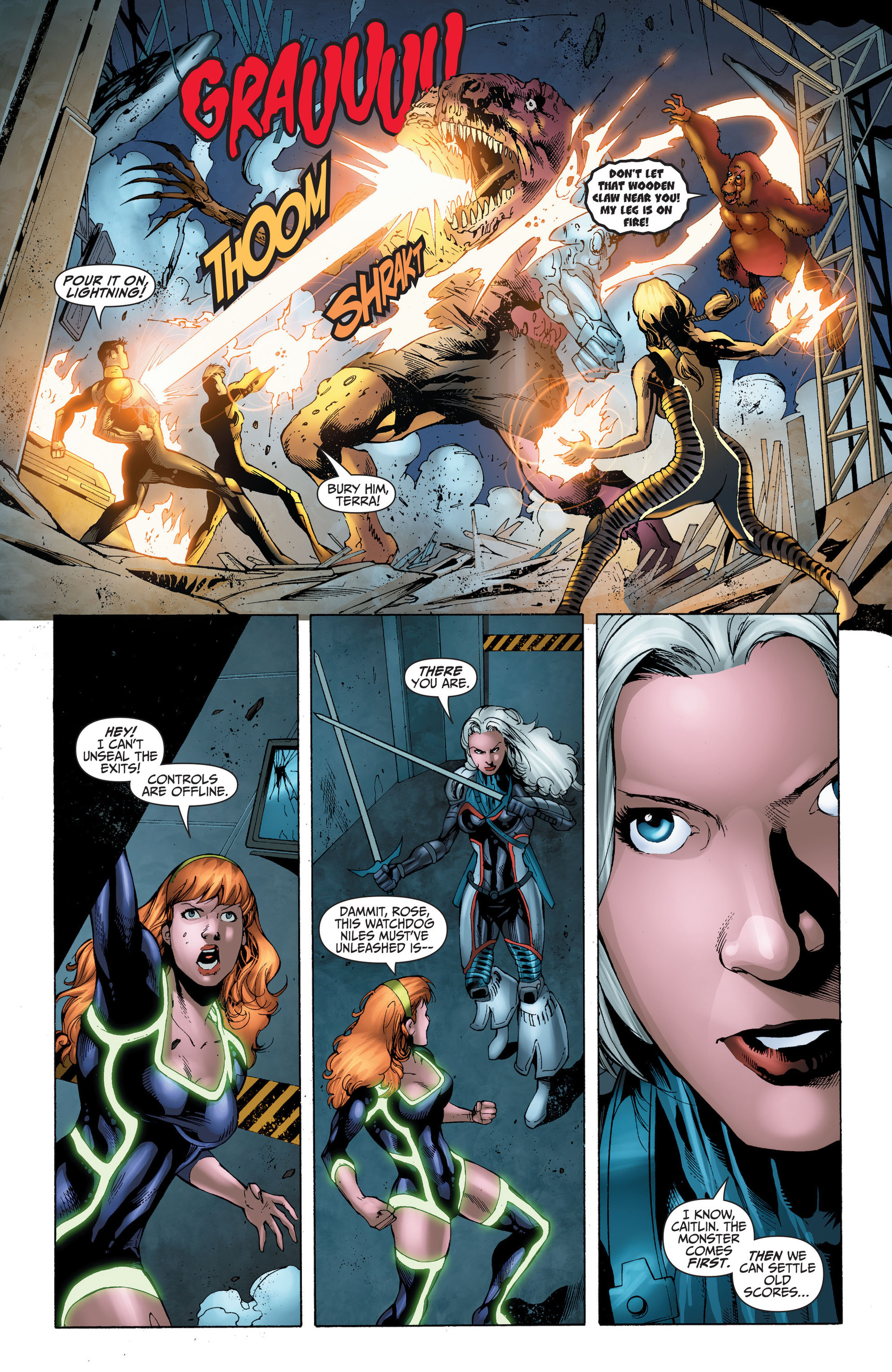 Read online The Ravagers comic -  Issue #11 - 17