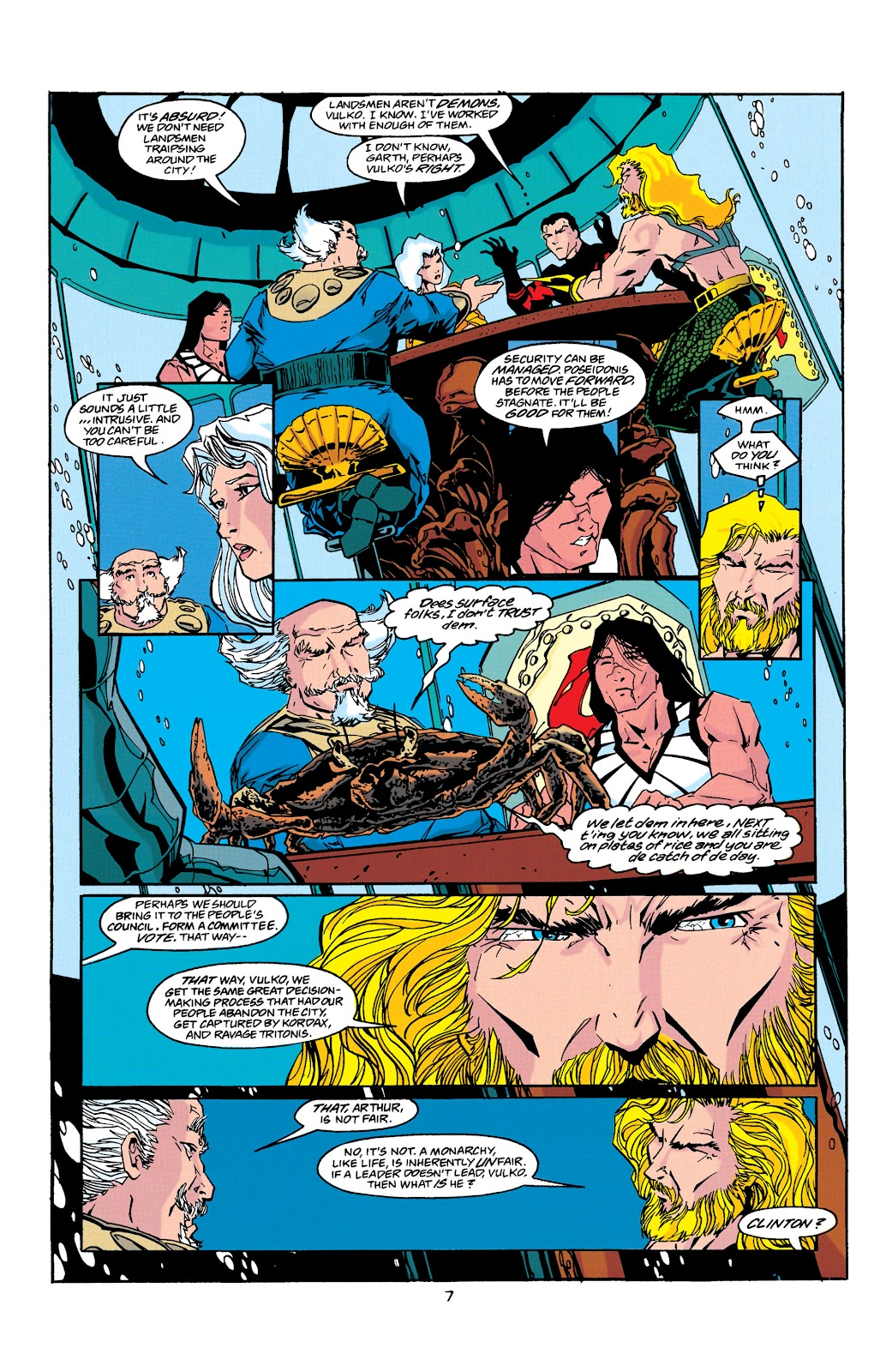 Aquaman (1994) Issue #38 #44 - English 8