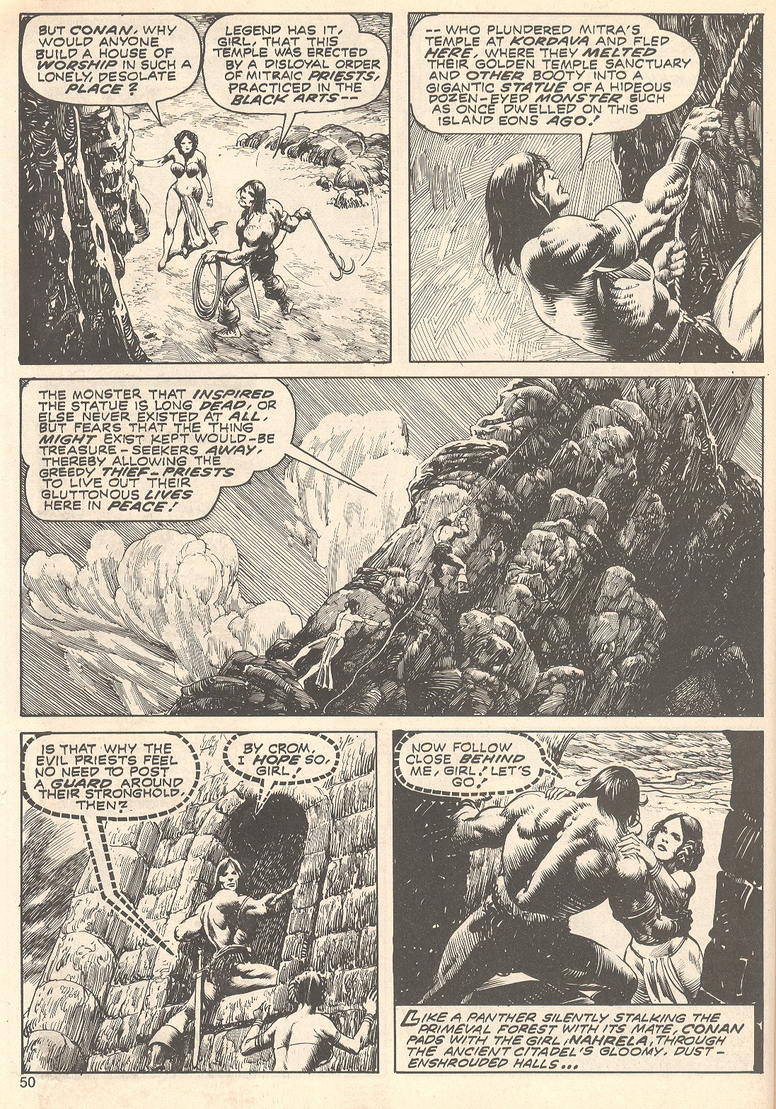 The Savage Sword Of Conan Issue #75 #76 - English 50