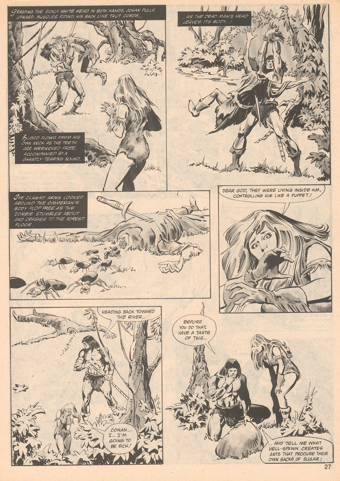 The Savage Sword Of Conan Issue #70 #71 - English 27
