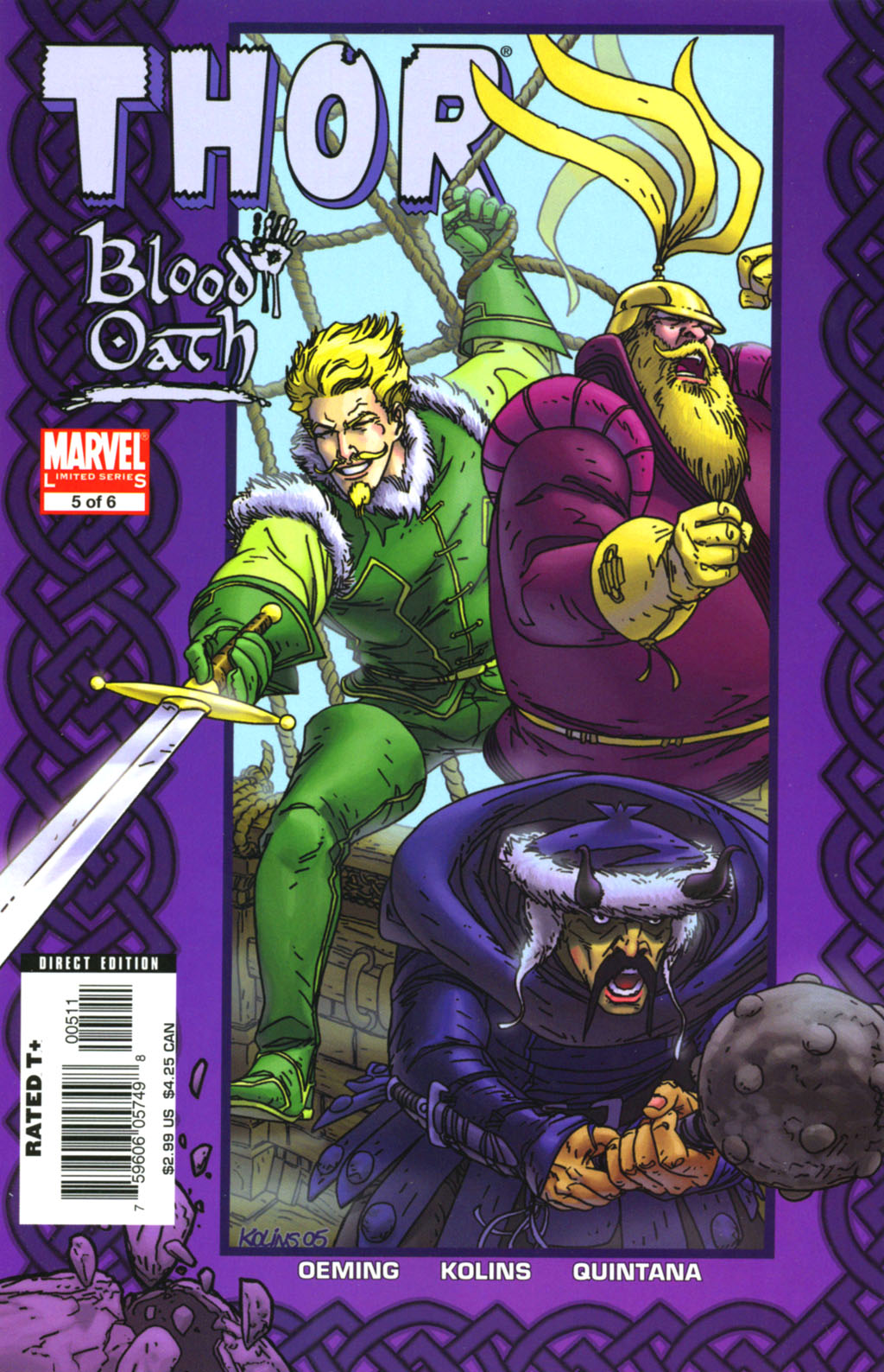 Read online Thor: Blood Oath comic -  Issue #5 - 1