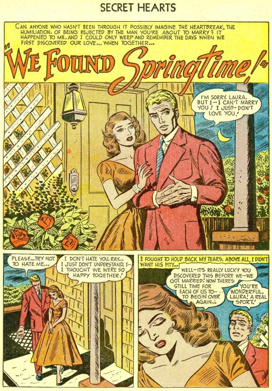 Read online Secret Hearts comic -  Issue #21 - 18