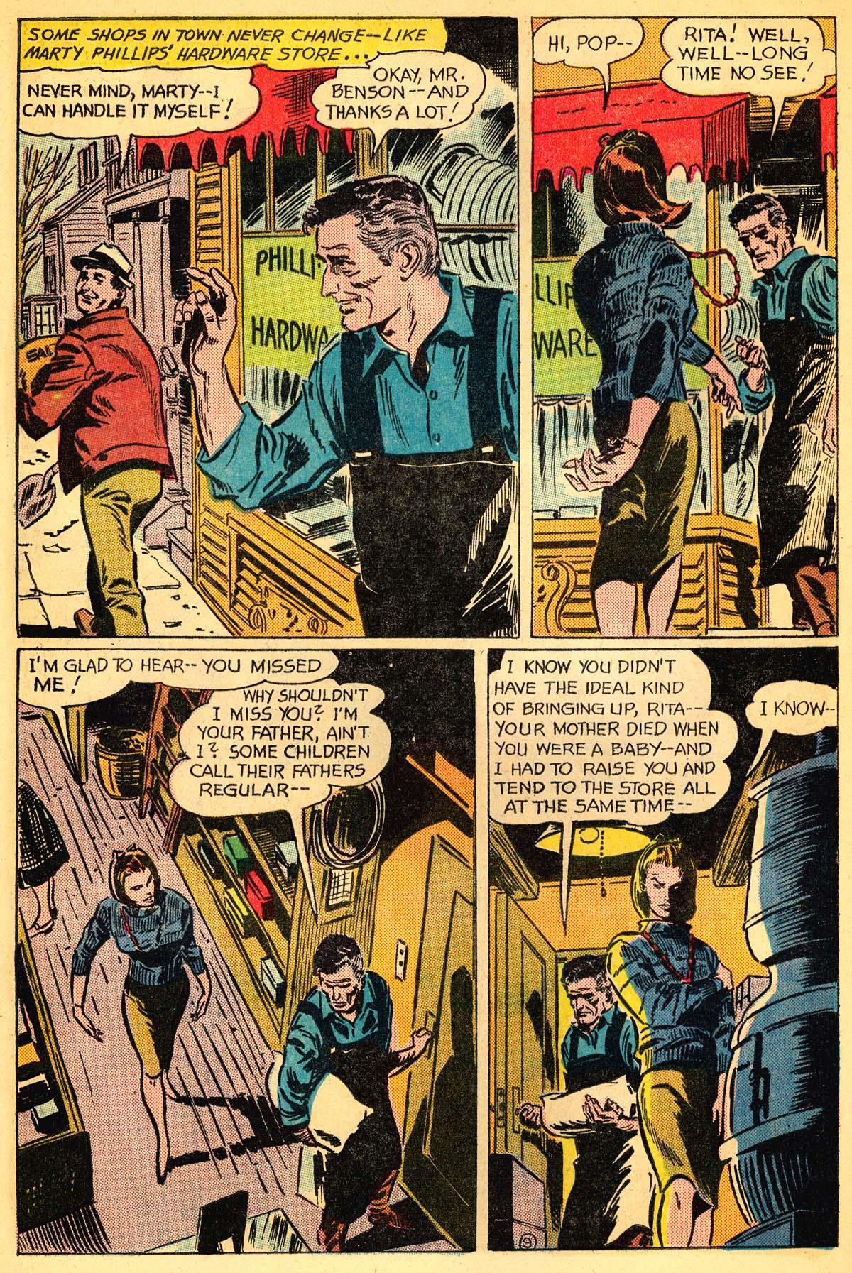 Read online Secret Hearts comic -  Issue #111 - 28