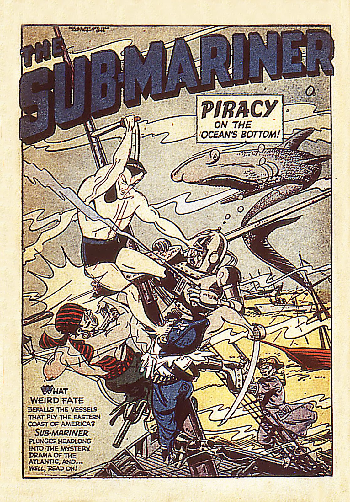 Sub-Mariner Comics Issue #7 #7 - English 3