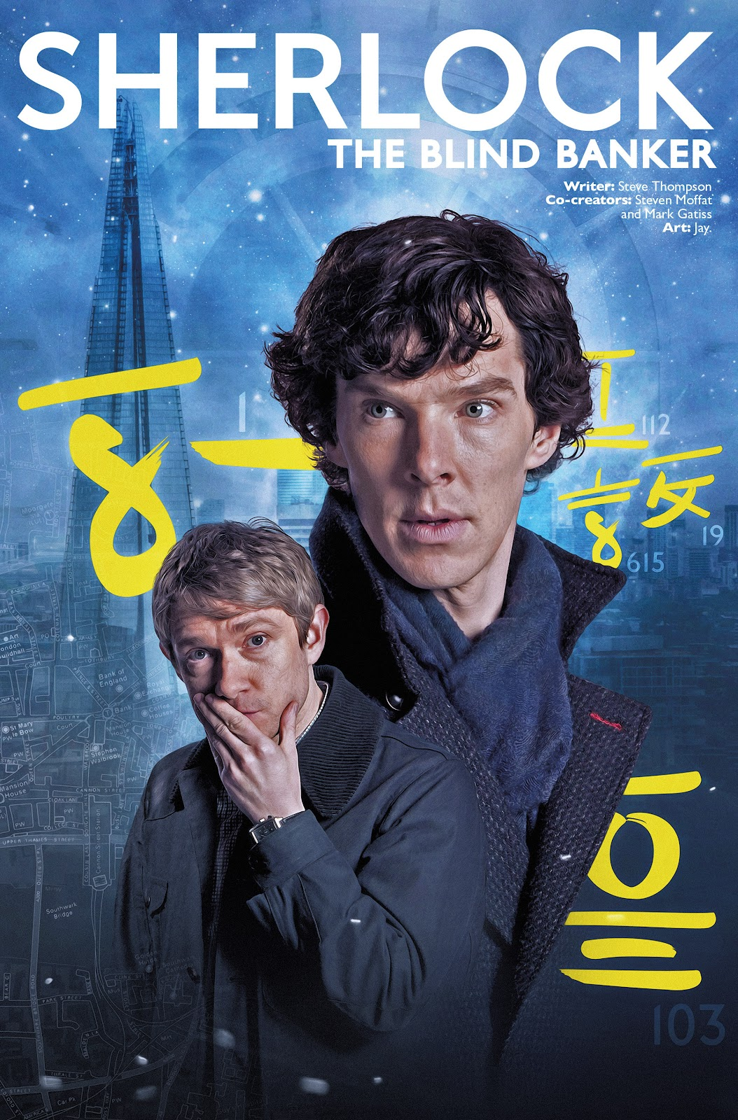 Sherlock: The Blind Banker Issue #1 #1 - English 2