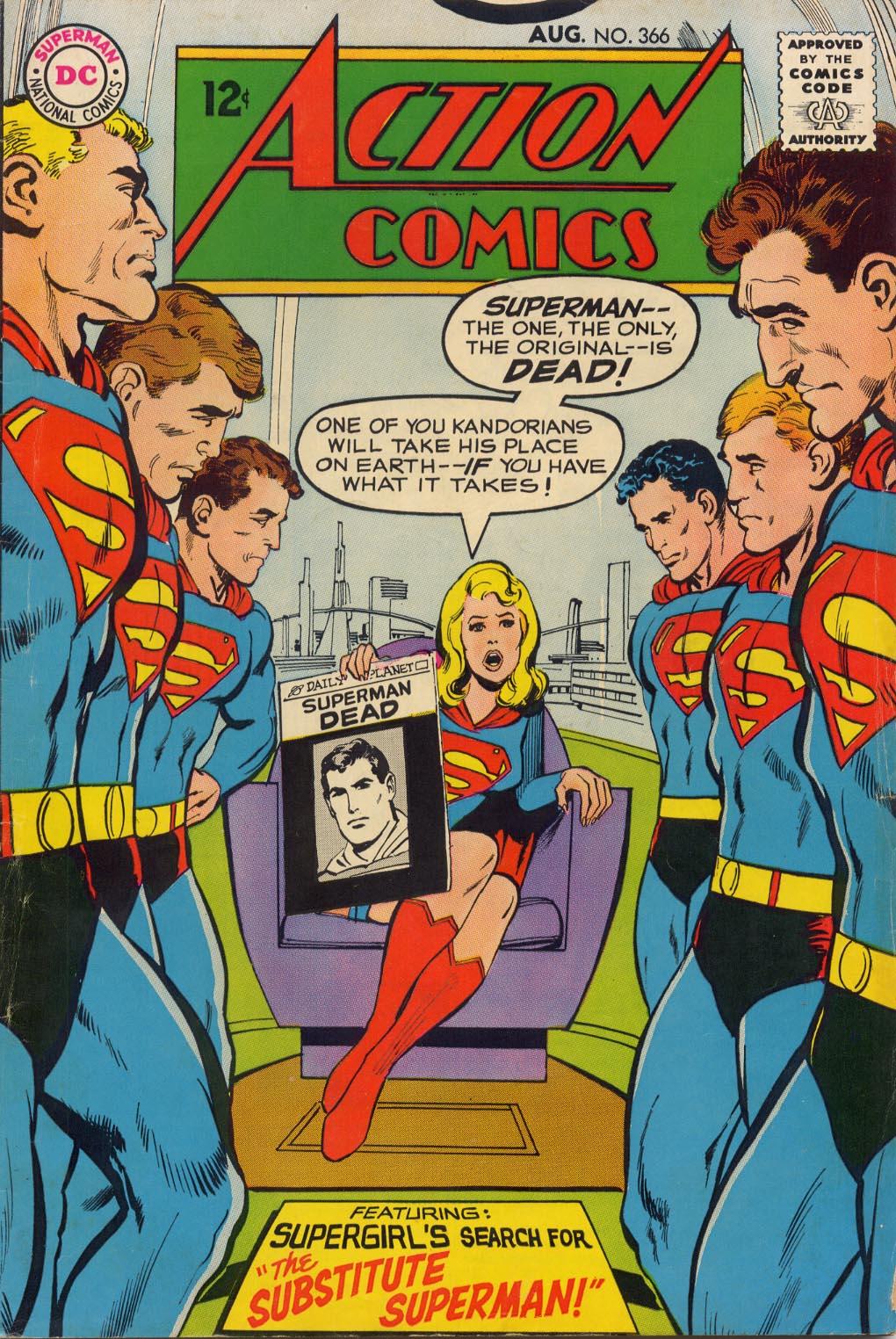 Action Comics (1938) 366 Page 1